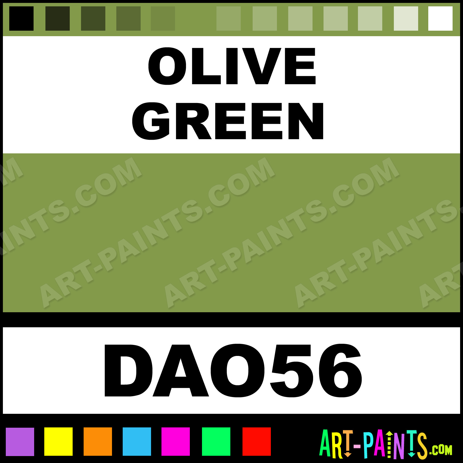 The 25 Best Olive Green Paints Ideas On Pinterest: Olive Green DecoArt Acrylic Paints