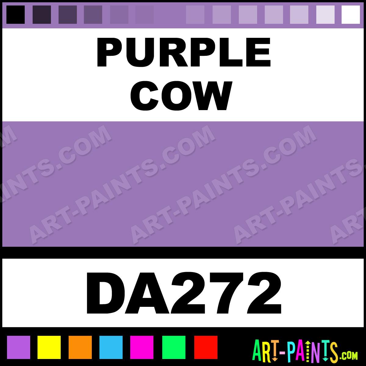 Purple Cow DecoArt Acrylic Paints