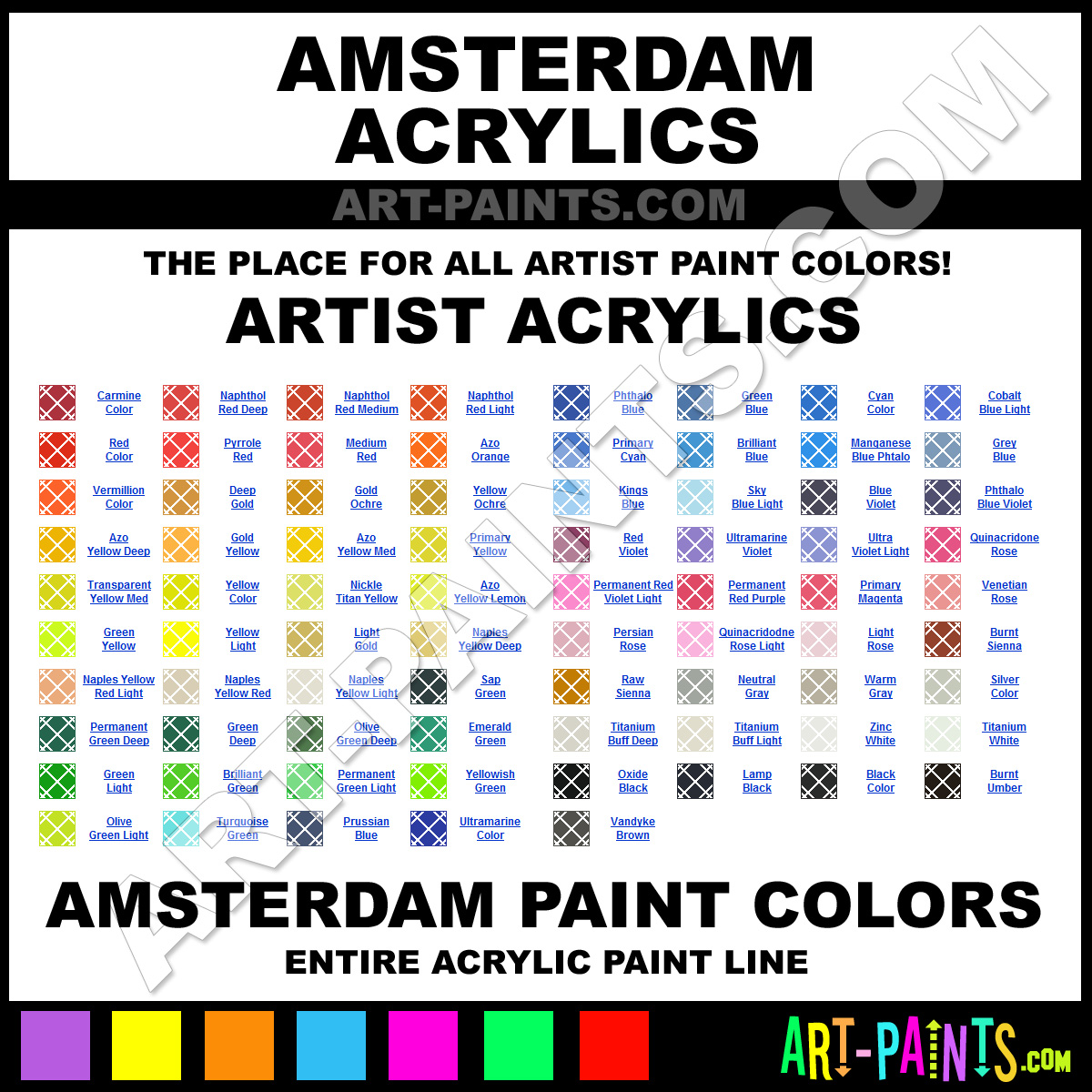 brands of paint color