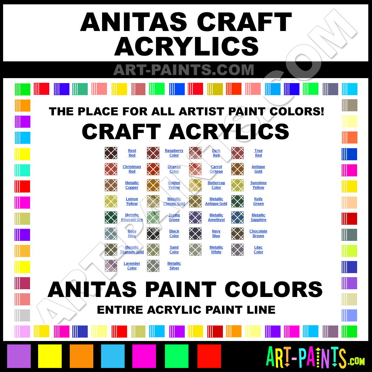 Delta Craft Paint Colors