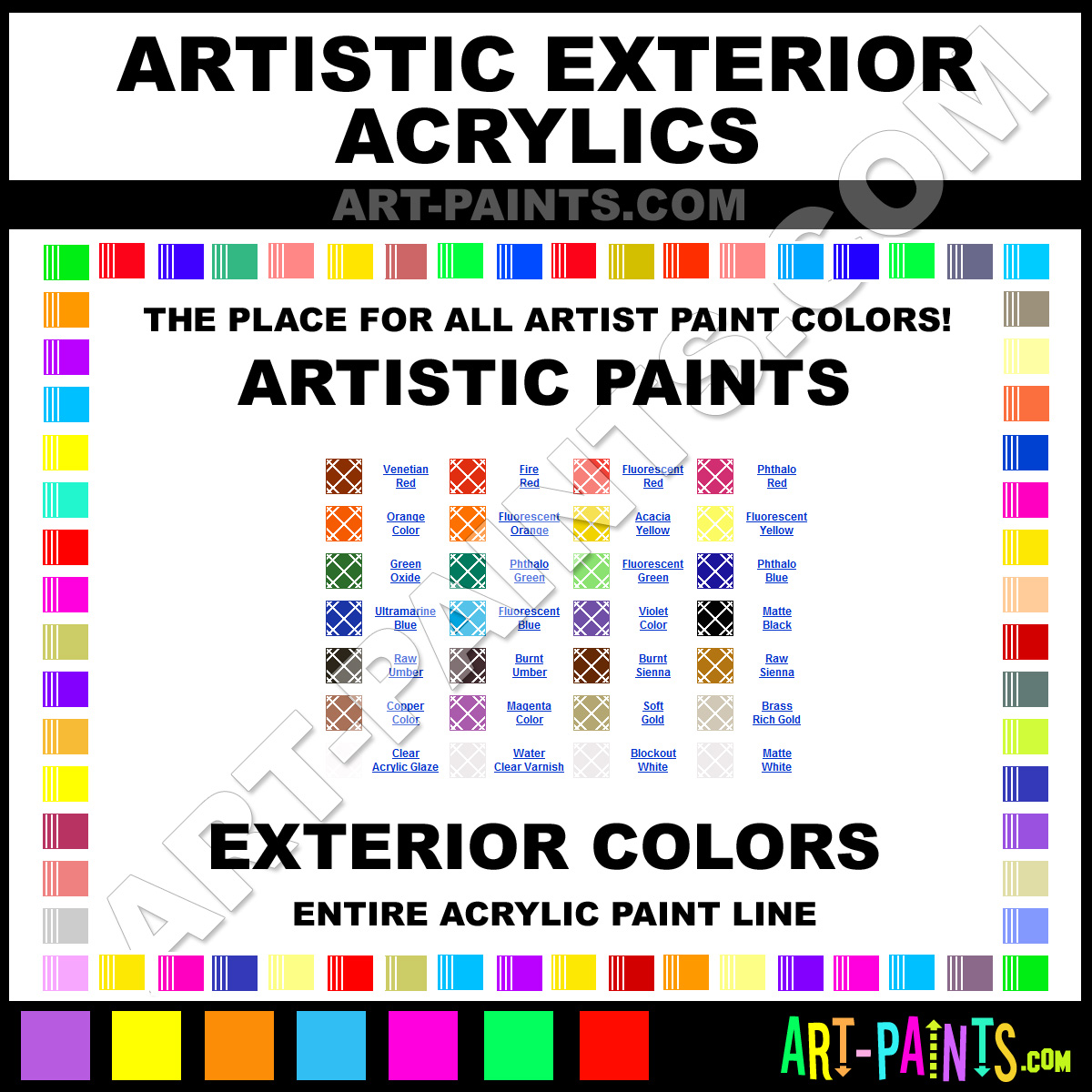 Pin artistic exterior acrylic paint colors on pinterest - Acrylic paint exterior plan ...