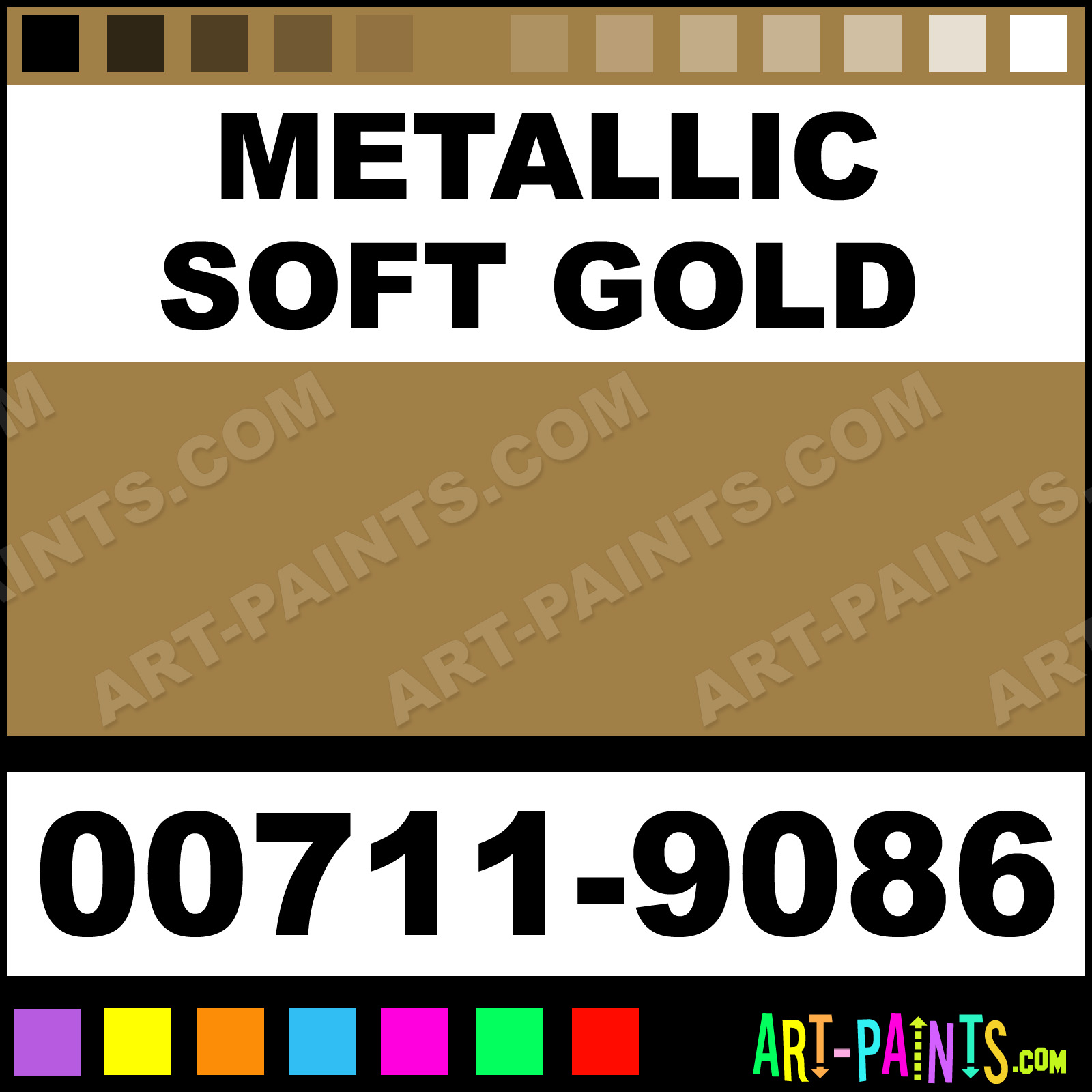 Gold Paint For Metal Metallic Soft Gold Paint