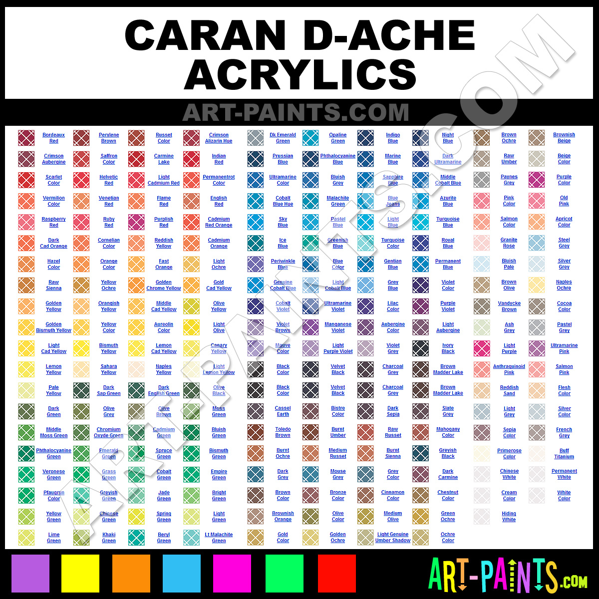 100 Paint Names Best Paints To Use On Decks And  : Caran D Ache from 45.76.24.110 size 1200 x 1200 jpeg 915kB