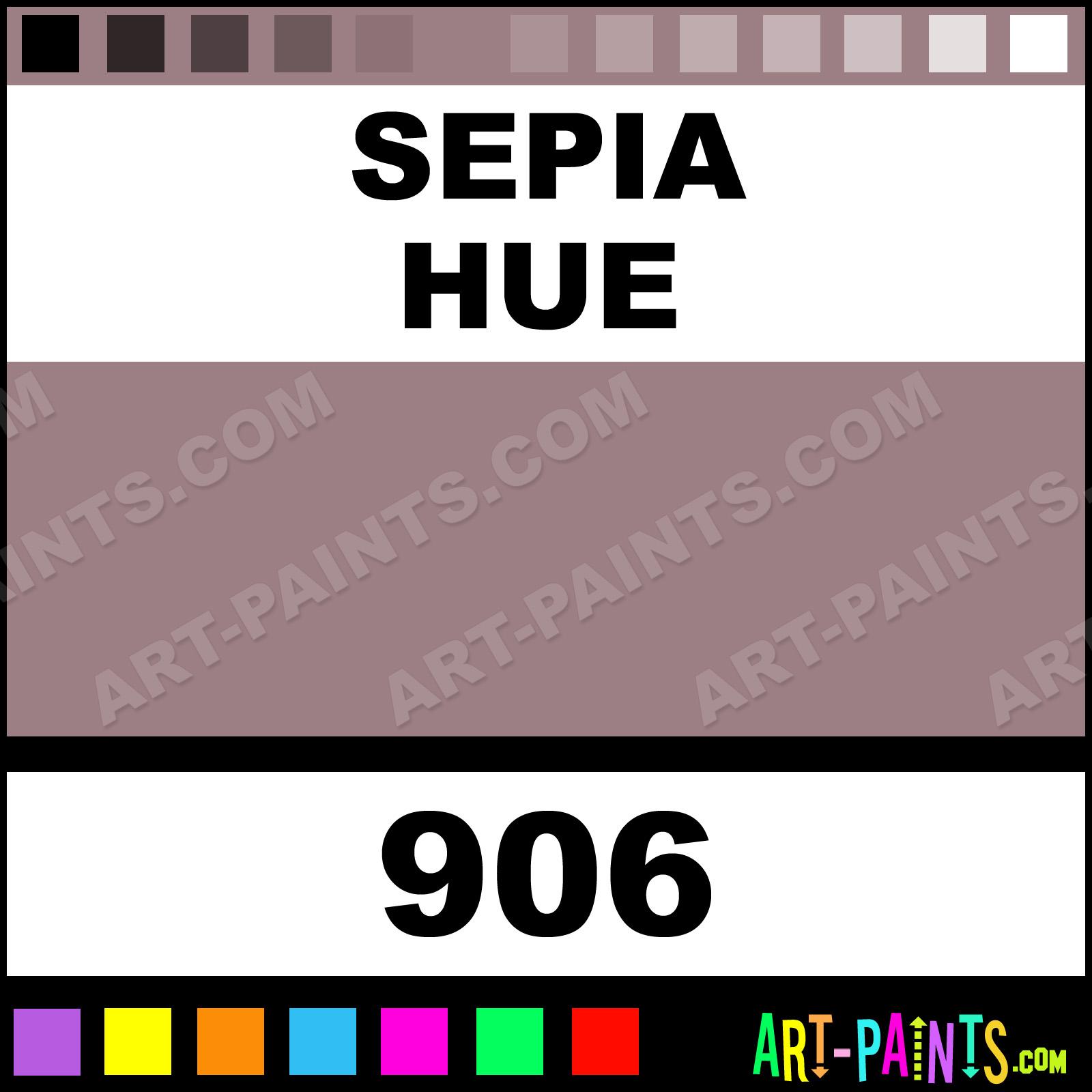 Sepia Colours Acrylic Paints 906 Sepia Paint Sepia Color Caran
