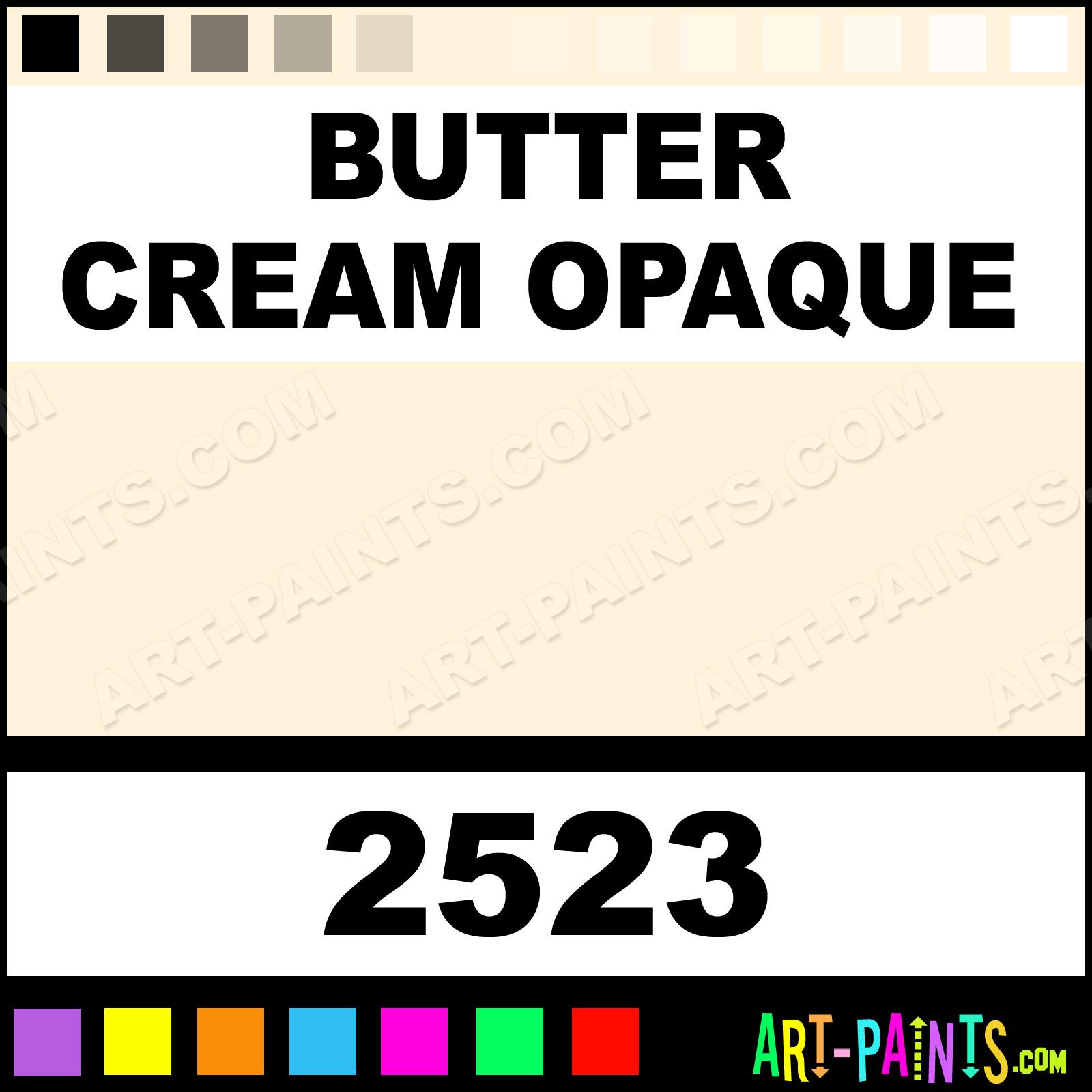 Butter Cream Opaque Delta Acrylic Paints 2523 Butter Cream
