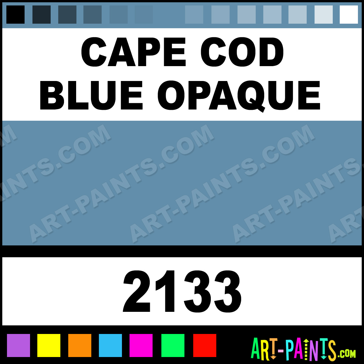 Cape Cod Blue Opaque Delta Acrylic Paints