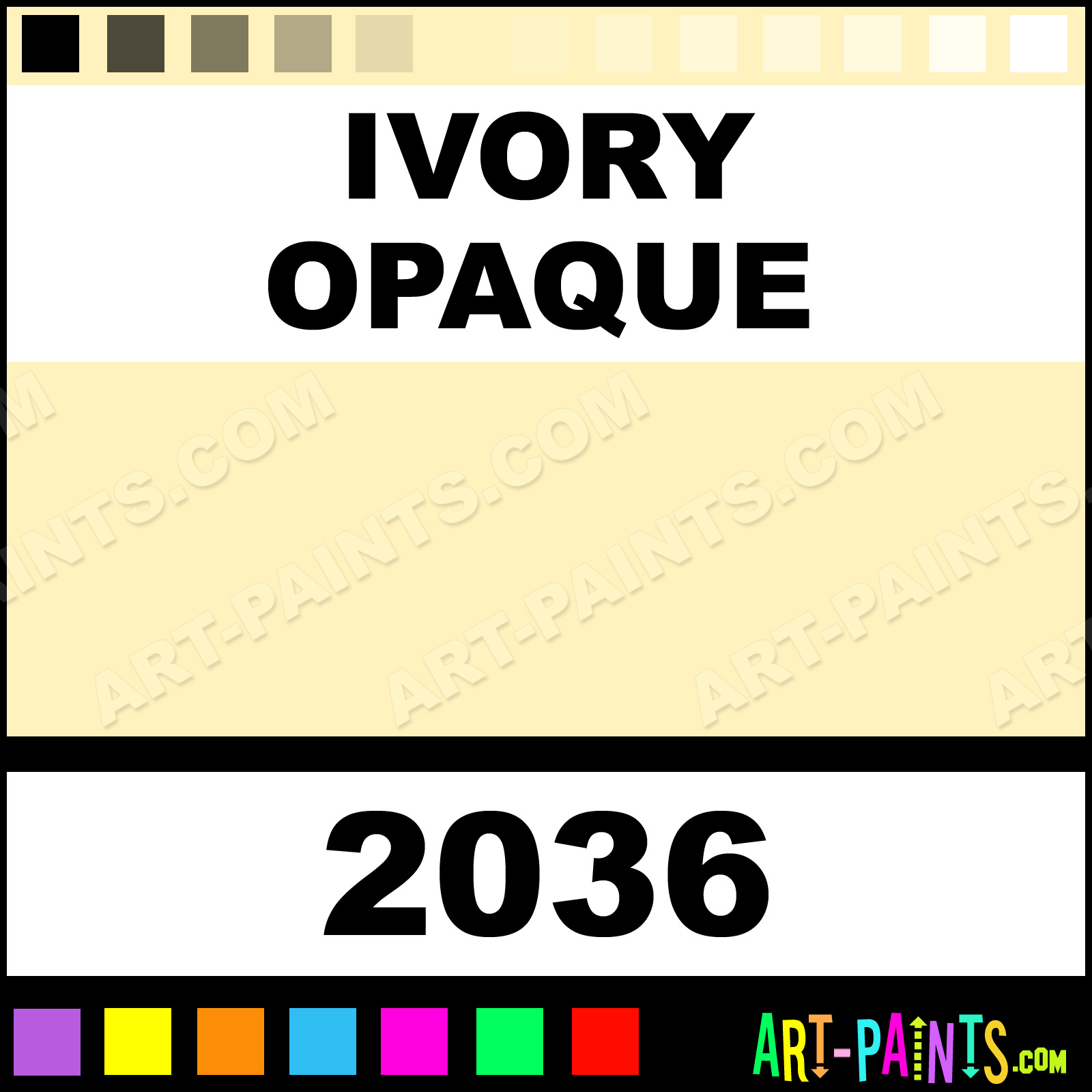 Ivory opaque delta acrylic paints 2036 ivory opaque paint ivory opaque nvjuhfo Choice Image