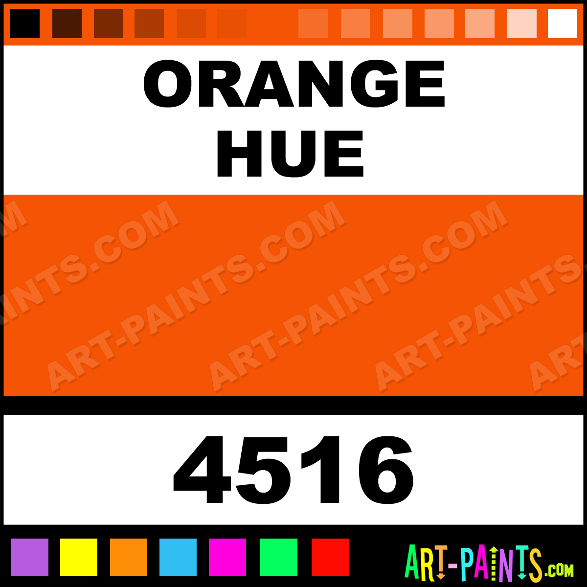Orange mural acrylic paints 4516 orange paint orange for Chroma mural paint markers