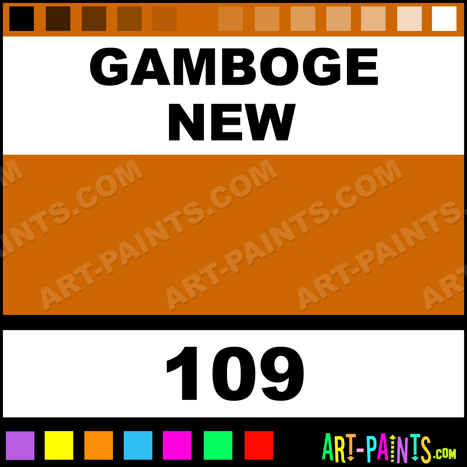 What Colour Paint Is New Gamboge