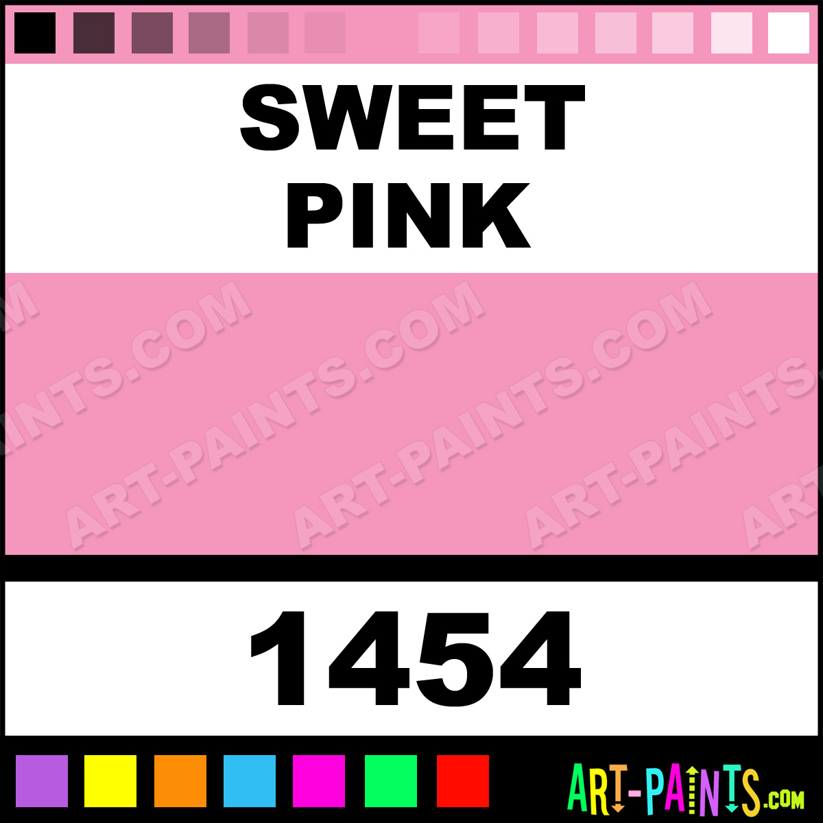 Sweet Pink Glossy Acrylic Paints 1454 Sweet Pink Paint