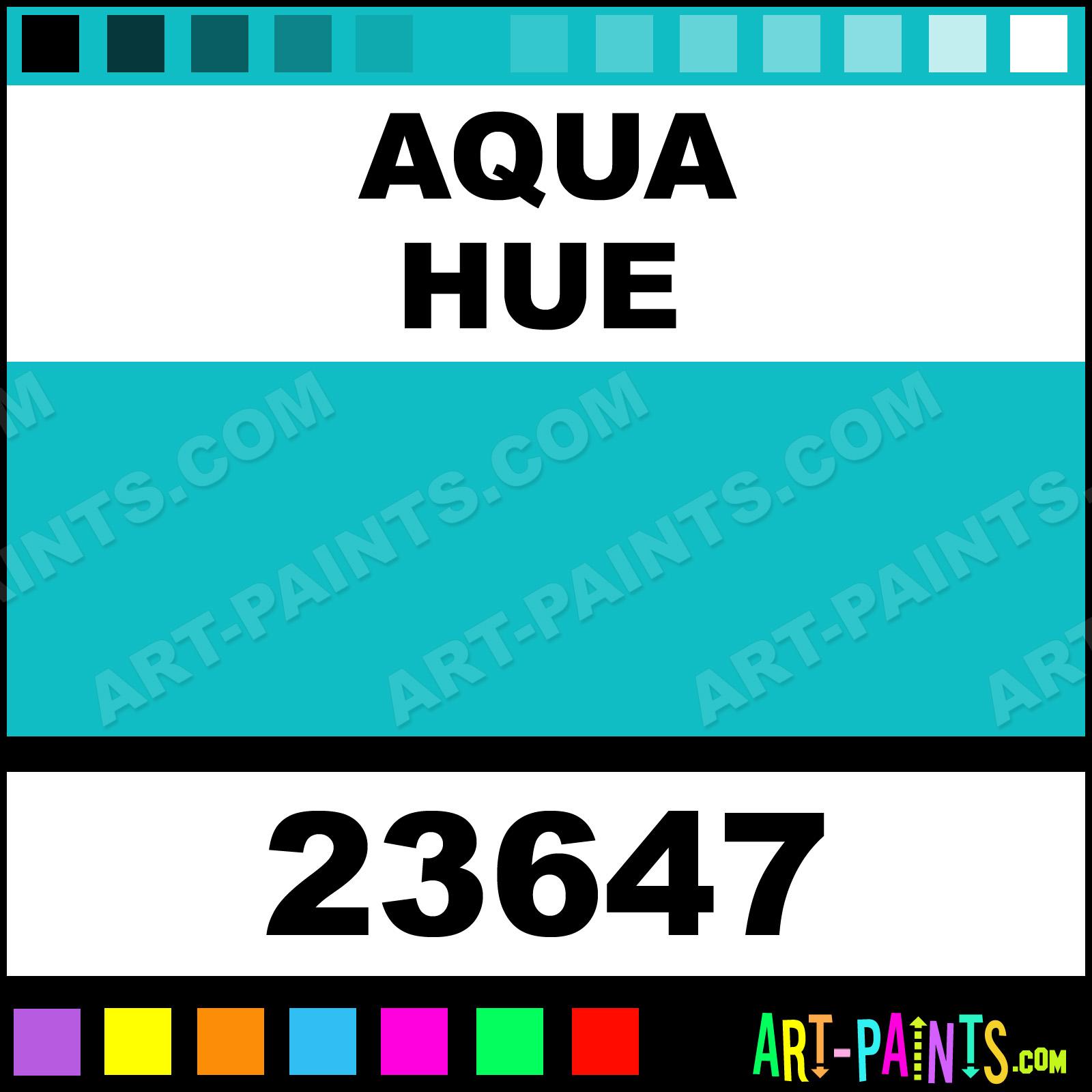 aqua artist acrylic paints - 23647 - aqua paint, aqua color, craft