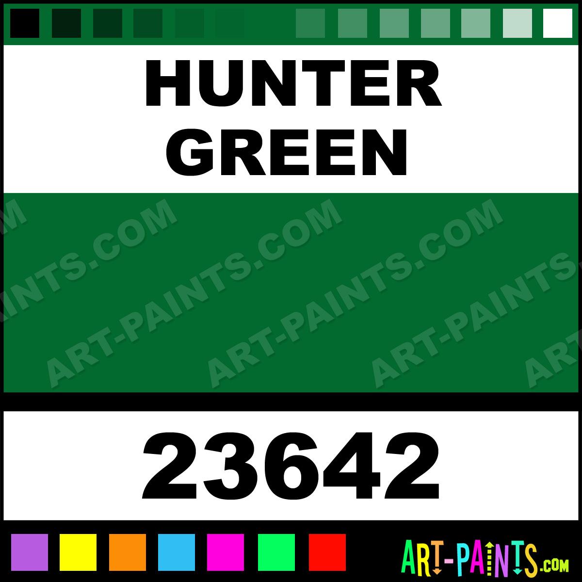 Hunter Green Artist Acrylic Paints - 23642 - Hunter Green Paint ...