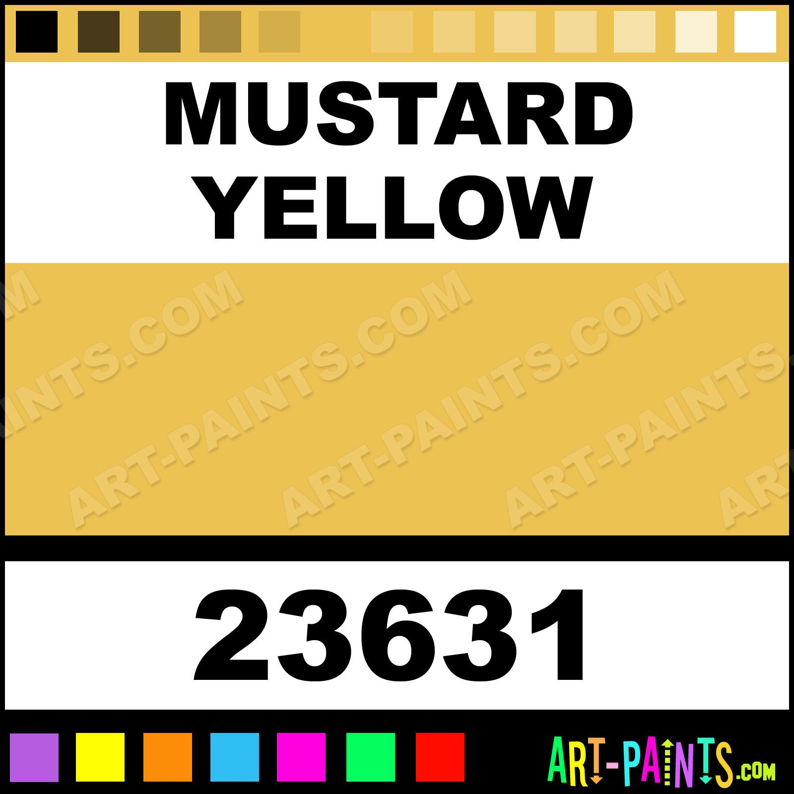 mustard yellow artist acrylic paints - 23631 - mustard yellow