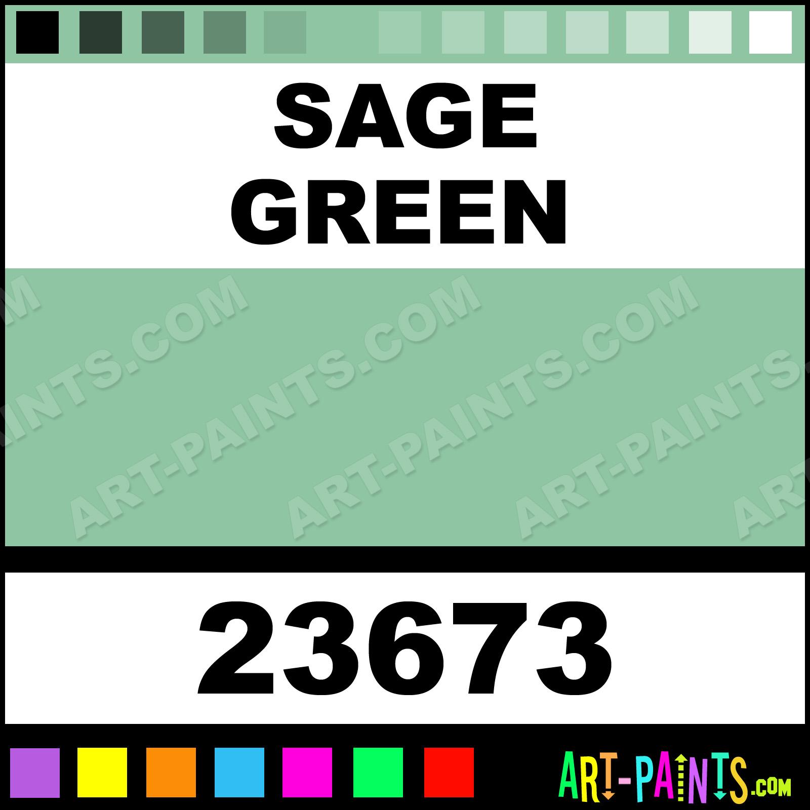 Sage Green Artist Acrylic Paints 23673 Sage Green