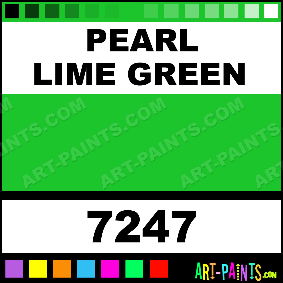 pearl lime green medium body acrylic paints 7247 pearl lime green paint pearl lime green. Black Bedroom Furniture Sets. Home Design Ideas