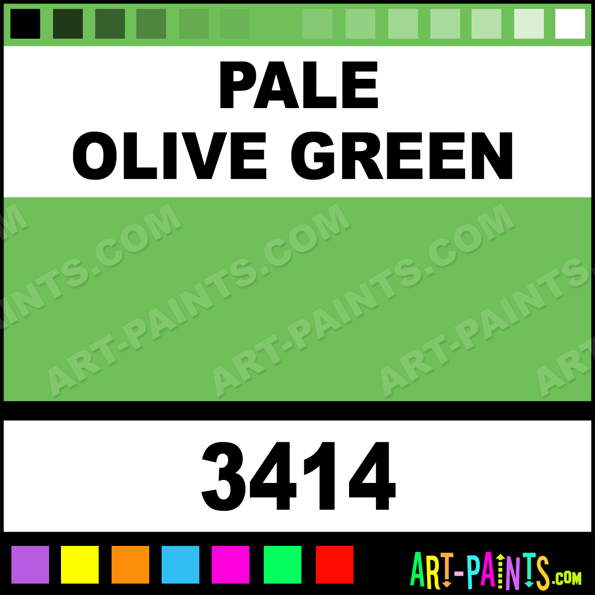 Pale Olive Green Paint