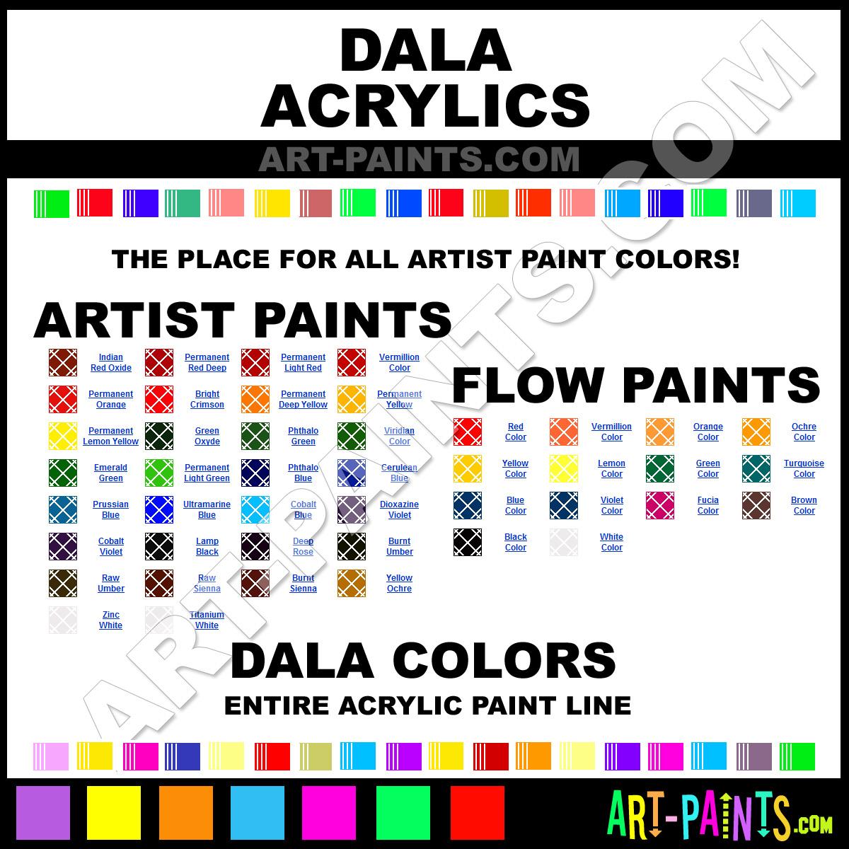 Dala Acrylic Paint Brands Dala Paint Brands Acrylic Paint Artist Acrylic Paints Flow