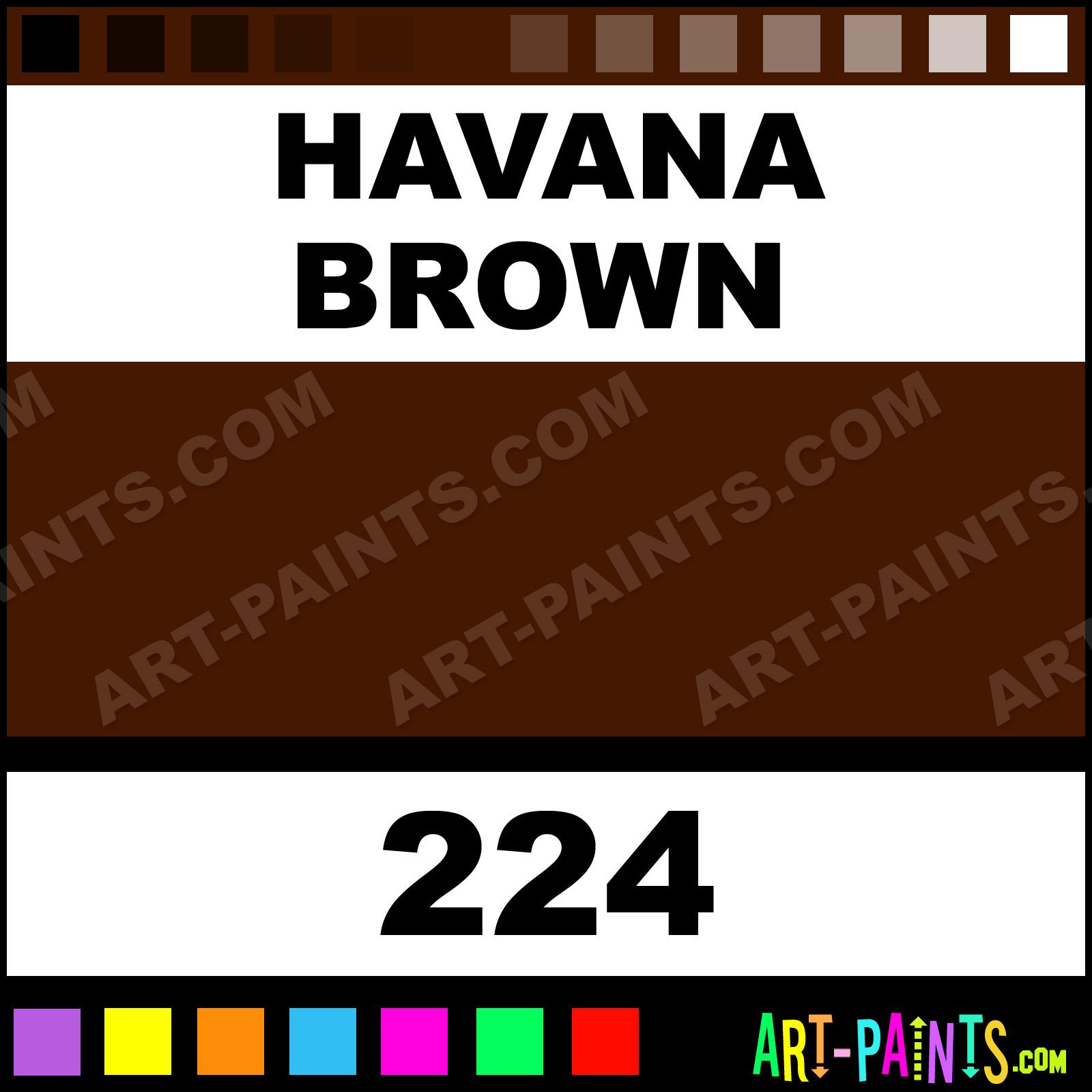 Havana Brown Paint