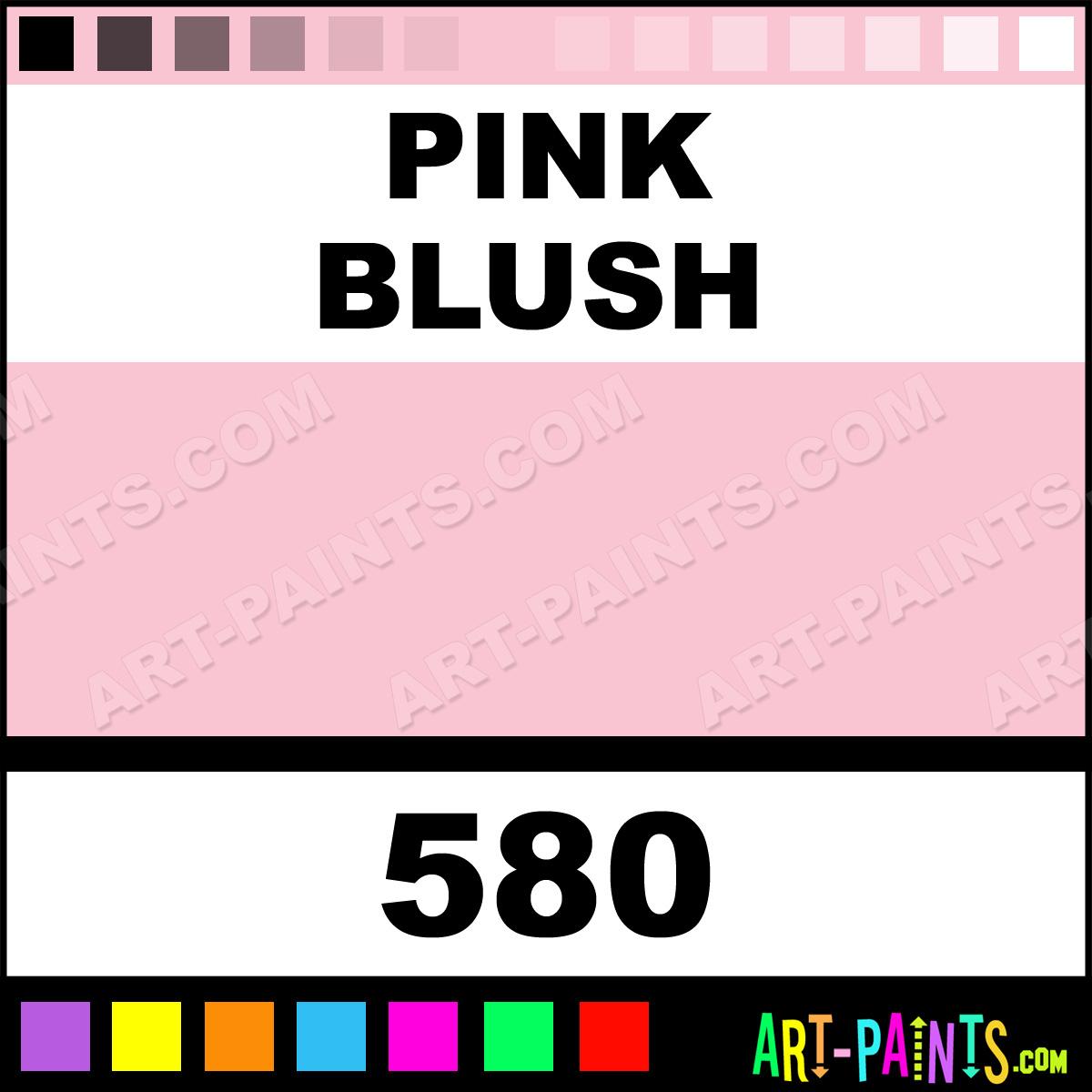 pink blush system3 acrylic paints 580 pink blush paint. Black Bedroom Furniture Sets. Home Design Ideas