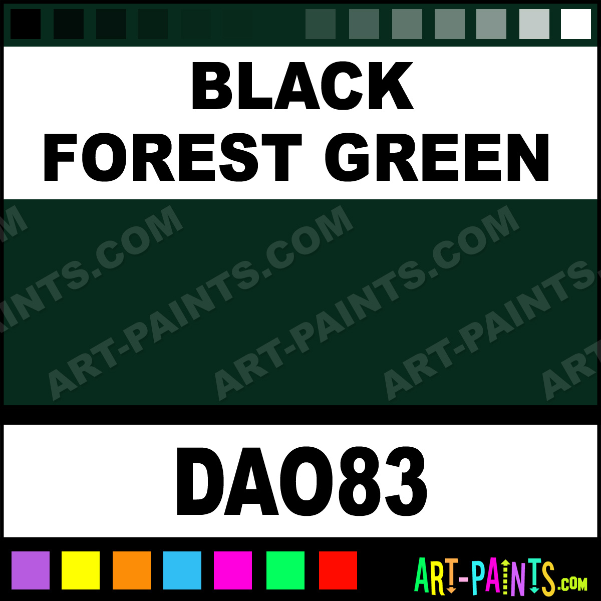 Black forest green americana acrylic paints dao83 for Dark forest green paint