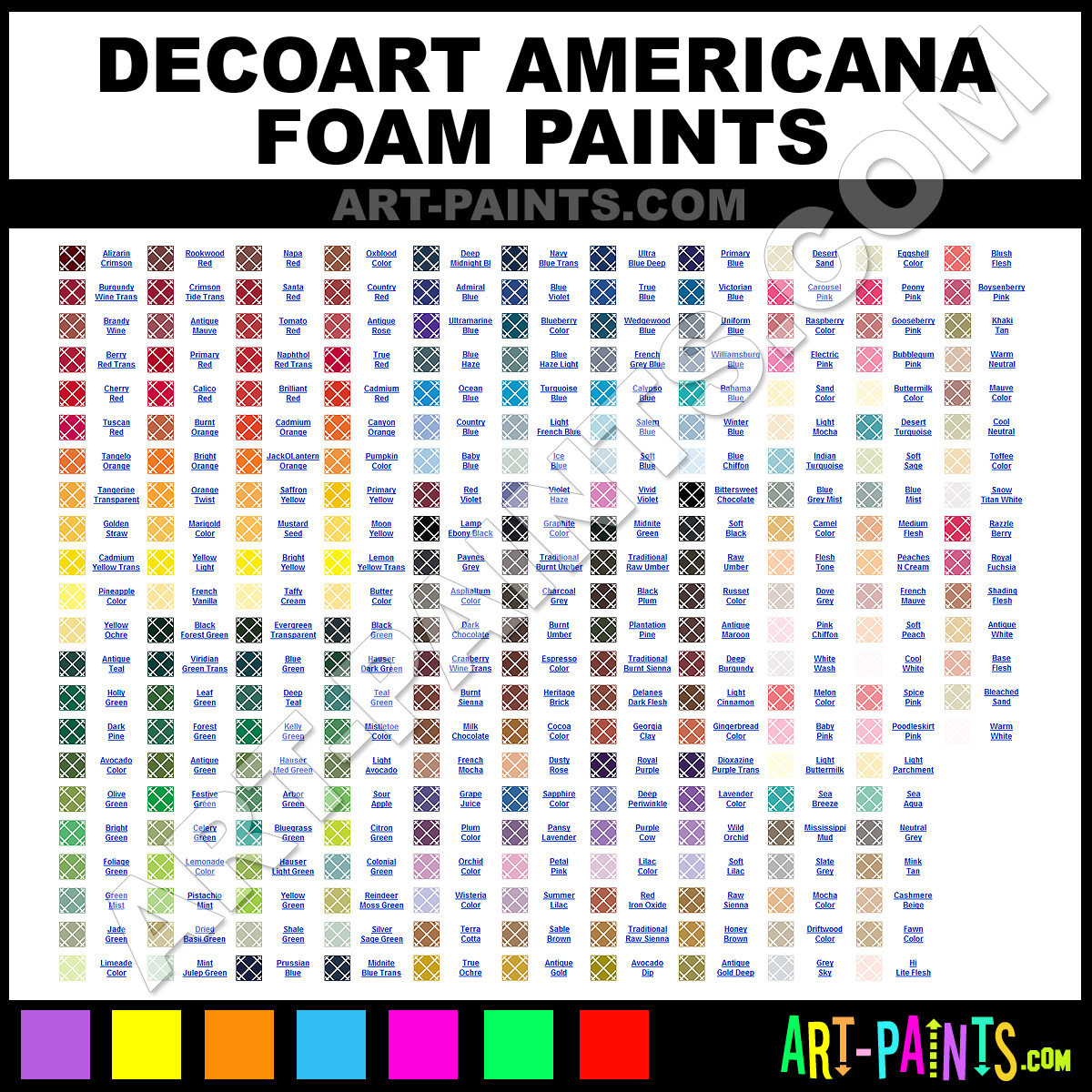 Folk art acrylic paint color chart - Mauve Paint Dao26 By Decoart Americana Paints