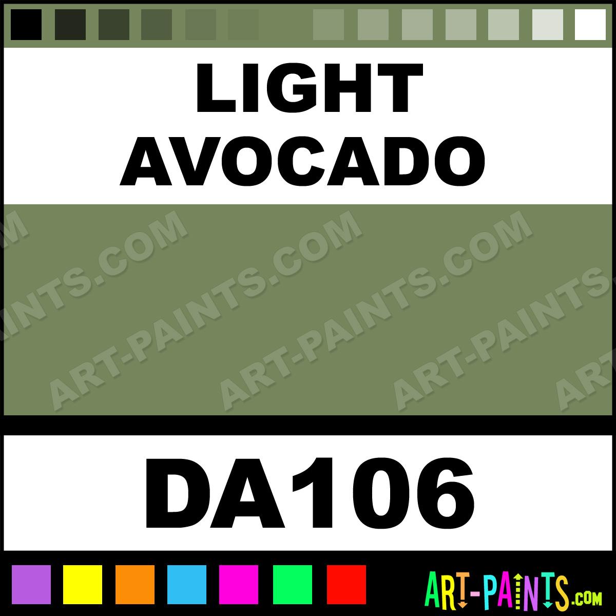 Light Avocado Americana Acrylic Paints - DA106 - Light Avocado Paint ...