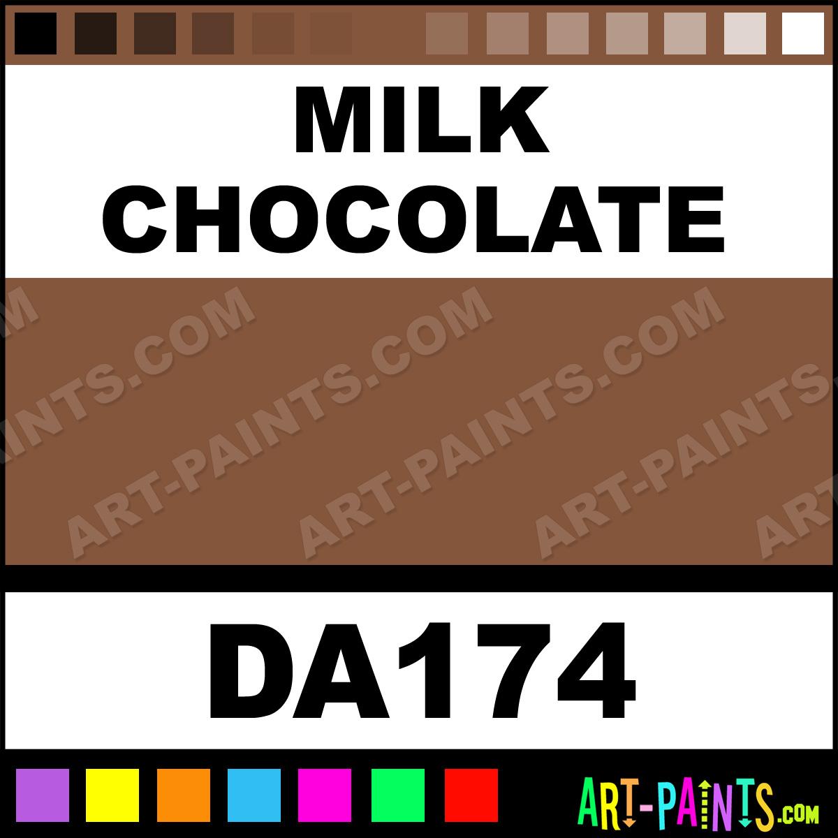 Milk Chocolate Brown Paint Color