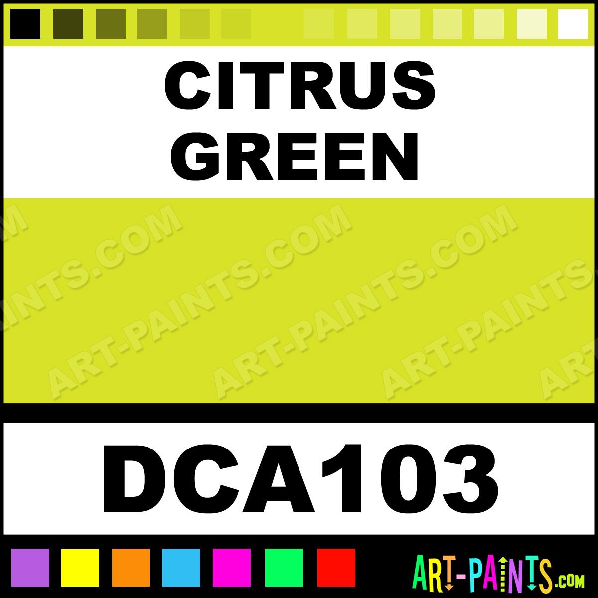 Citrus Green Paint