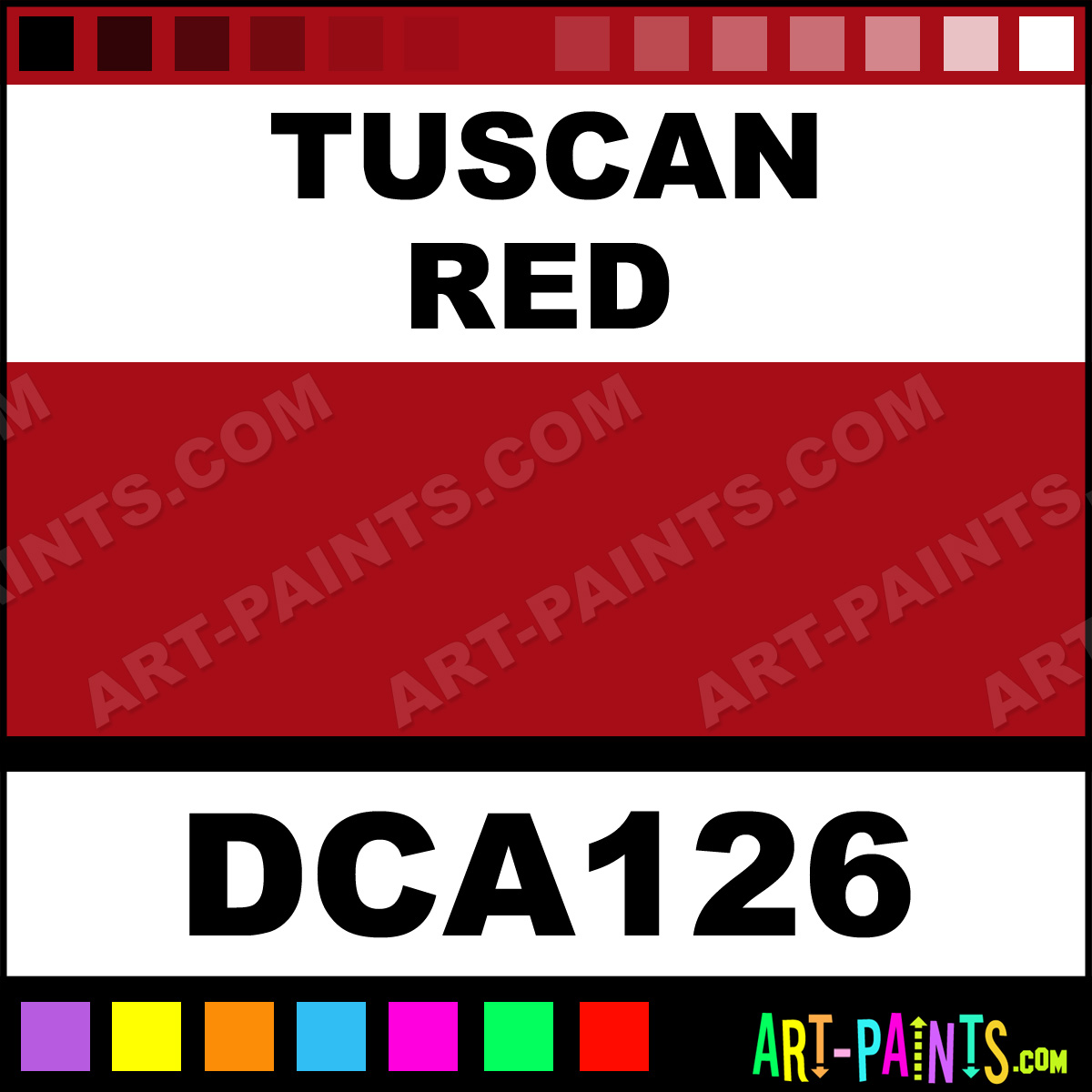 Tuscan Red Spray Paint