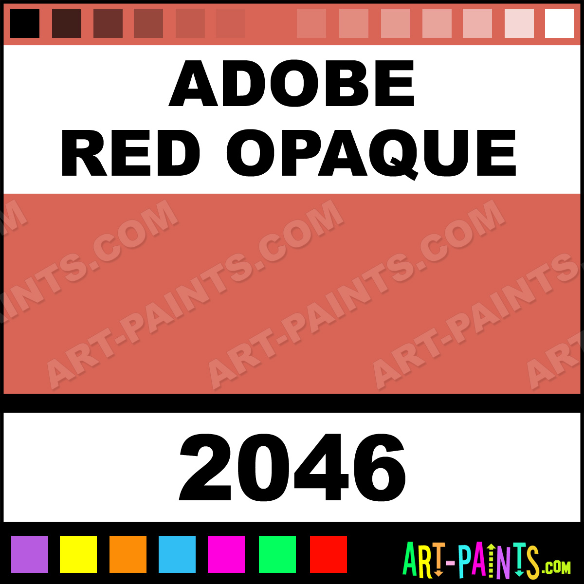 Adobe red opaque ceramcoat acrylic paints 2046 adobe red adobe red nvjuhfo Choice Image