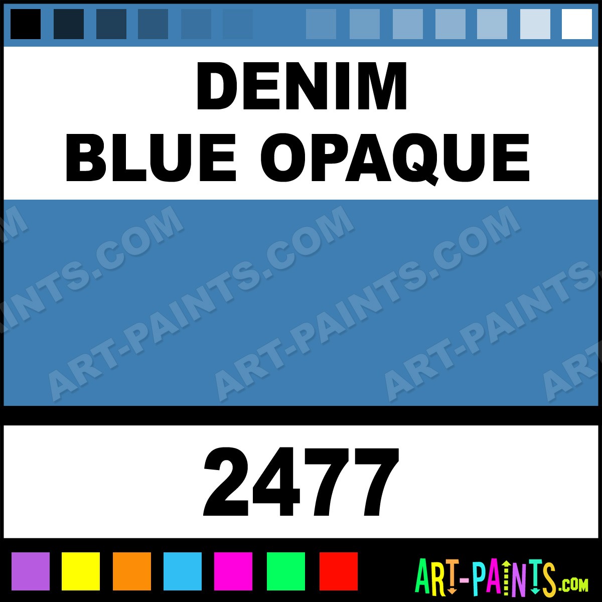 Denim blue opaque ceramcoat acrylic paints 2477 denim blue denim blue nvjuhfo Choice Image