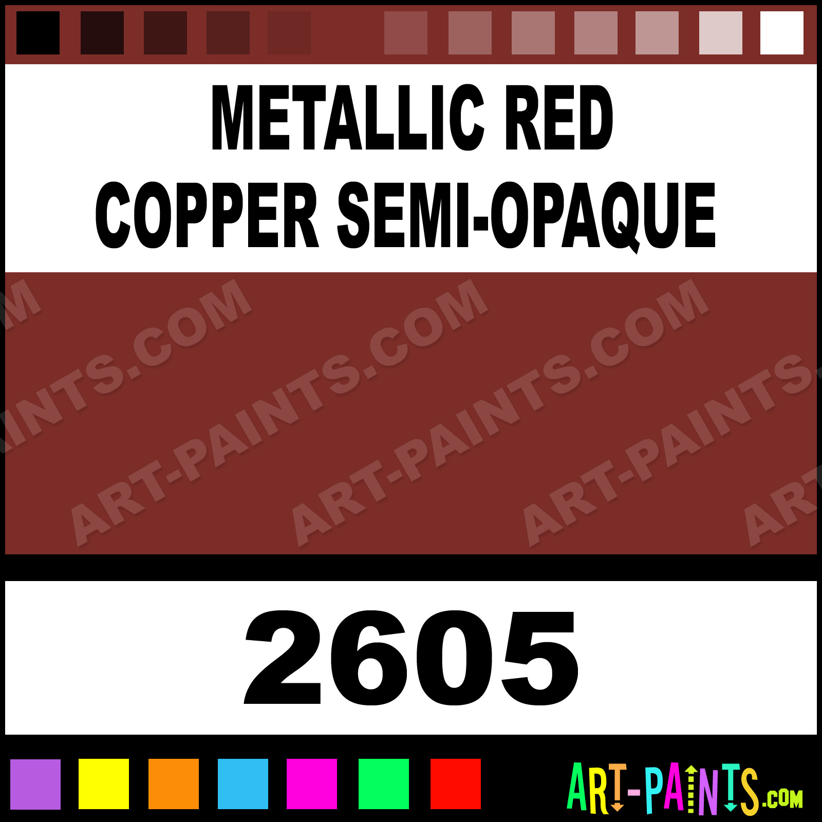 Semi opaque color delta ceramcoat paint 7b2c27 art paints com