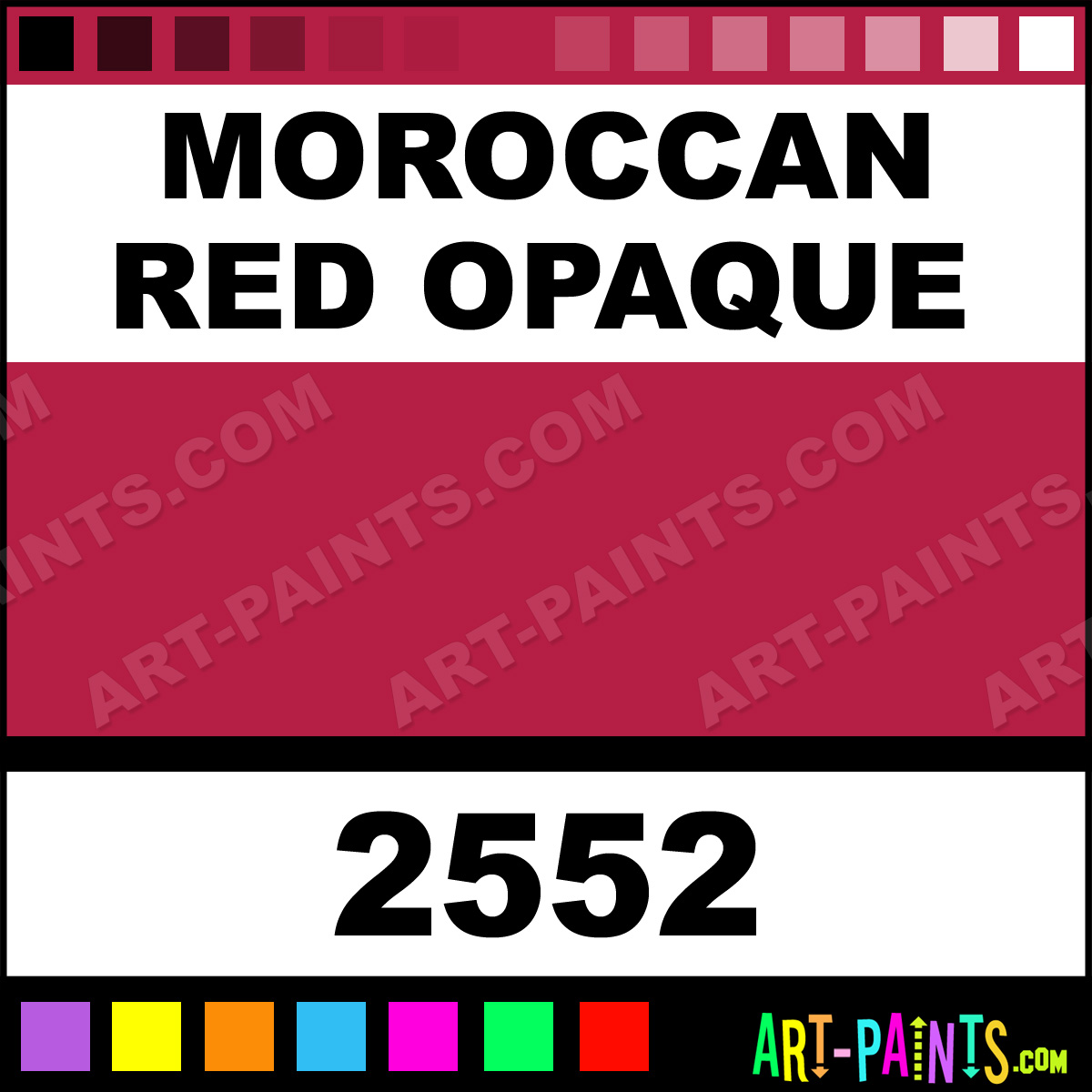 moroccan red opaque paint - Moroccan Red Paint