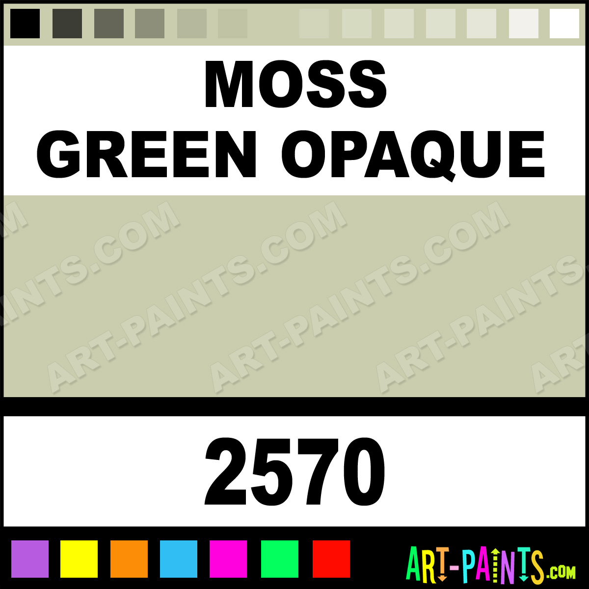 Moss Green Paint Colors: Moss Green Opaque Ceramcoat Acrylic Paints