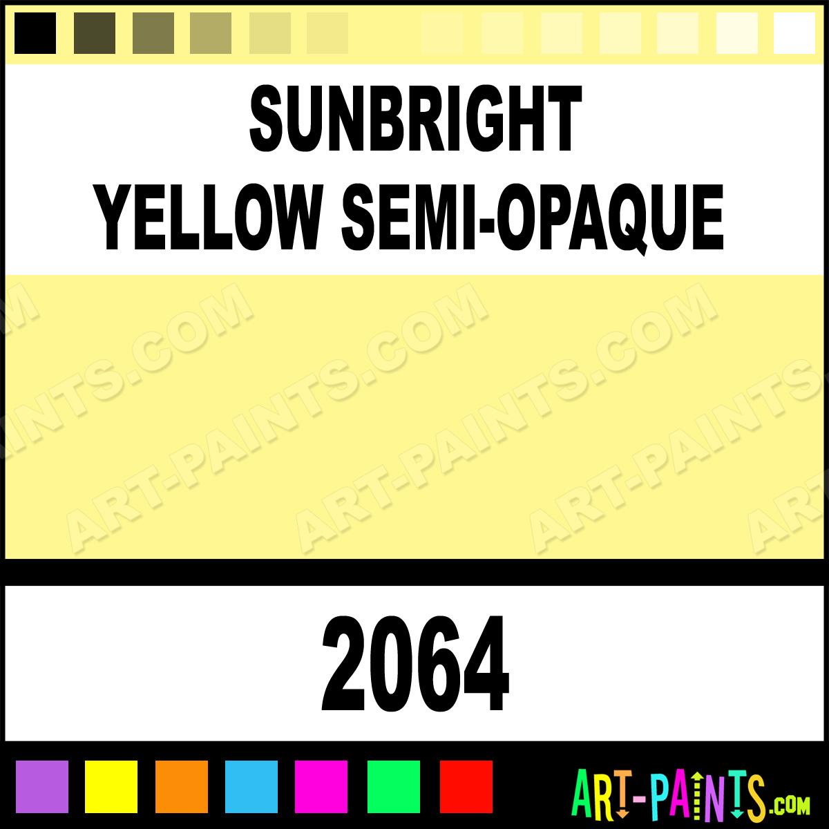 Sunbright yellow semi opaque ceramcoat acrylic paints 2064 sunbright yellow semi opaque nvjuhfo Choice Image