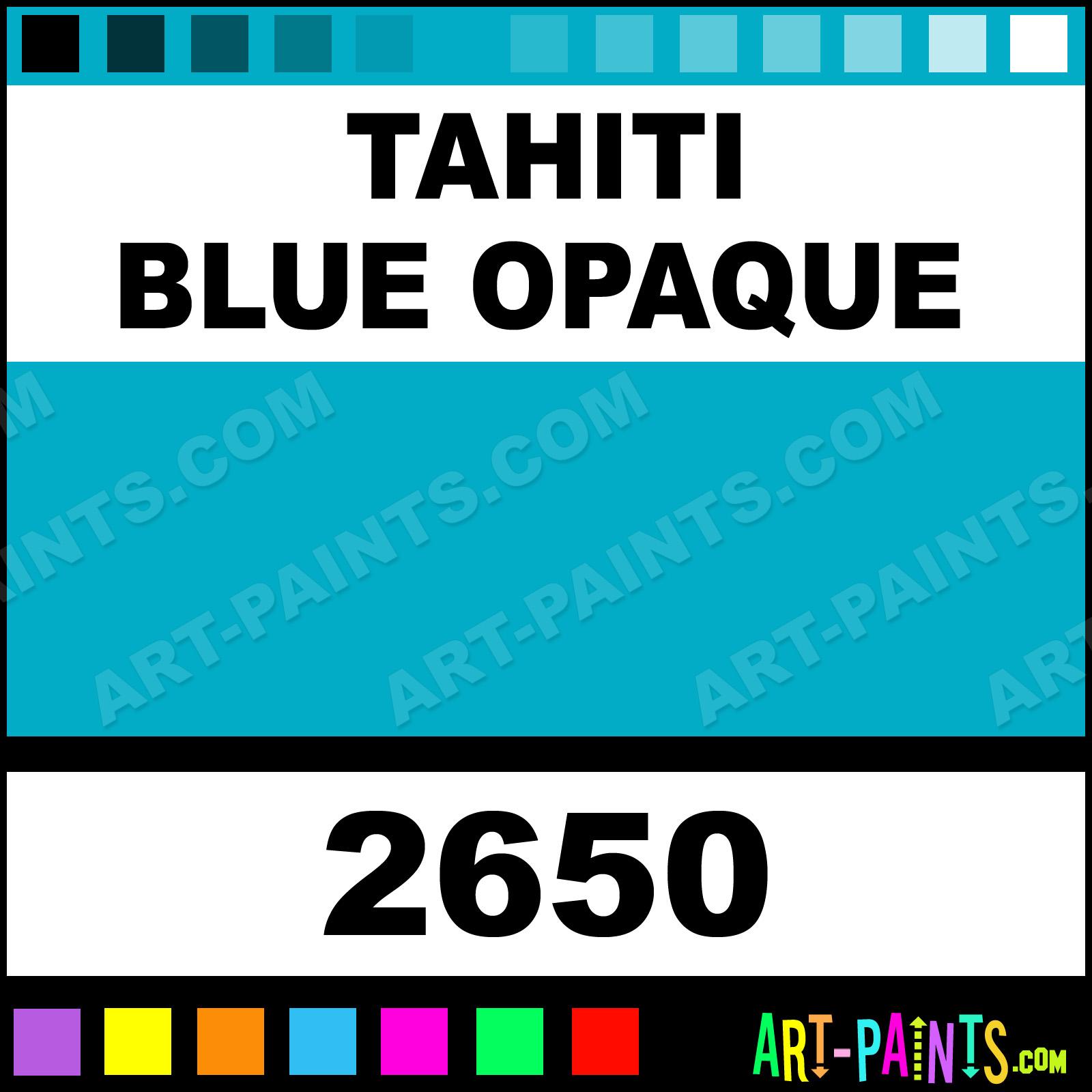 Delta Paints Tahiti Blue