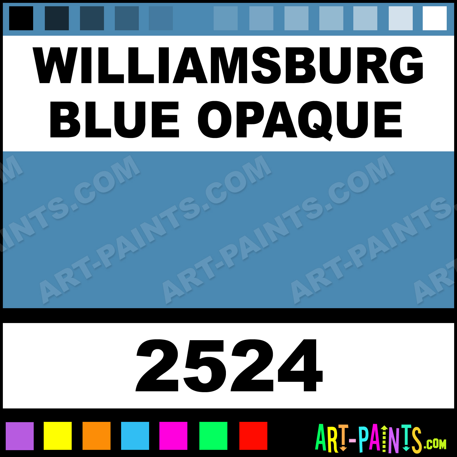 Williamsburg blue opaque ceramcoat acrylic paints 2524 williamsburg blue opaque williamsburg blue opaque paint nvjuhfo Image collections
