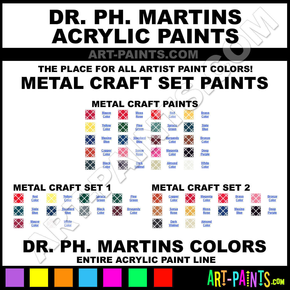 Deep purple metal craft acrylic paints dmmc18 2 deep for Craft paint for metal