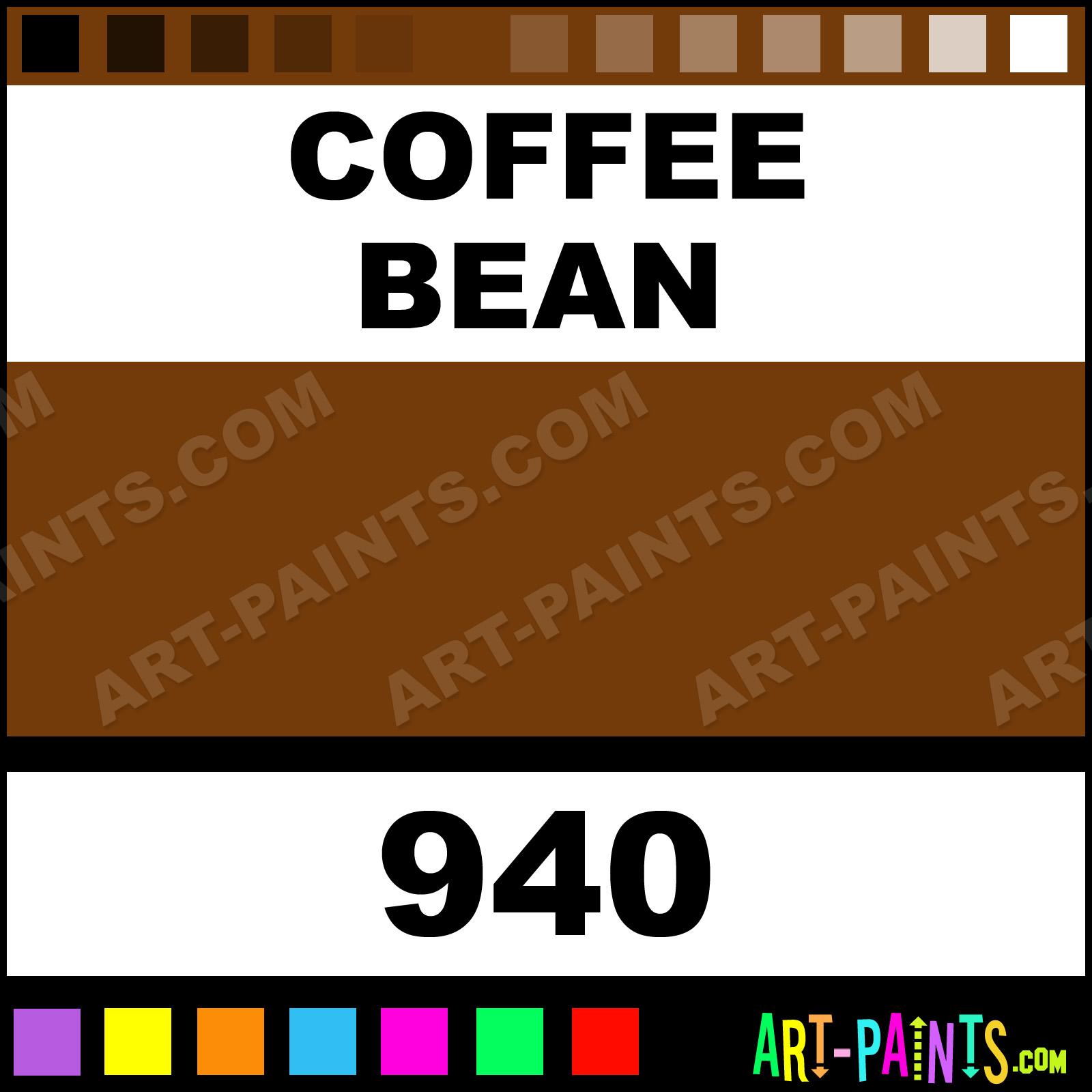 Coffee Bean Plaid Acrylic Paints 940 Coffee Bean Paint Coffee