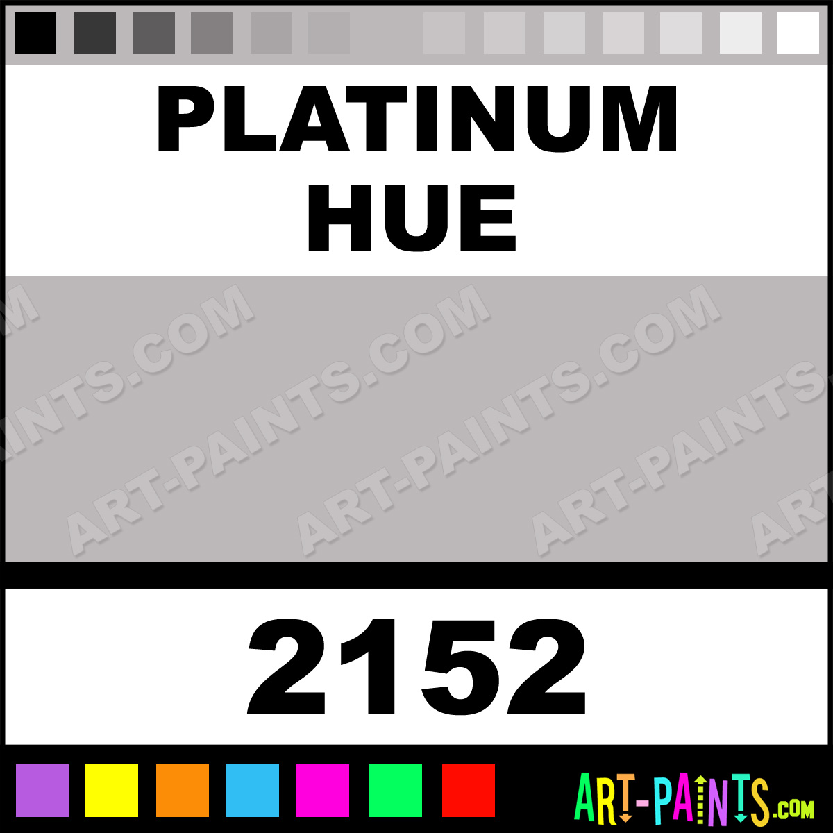 Platinum Plaid Acrylic Paints 2152 Platinum Paint