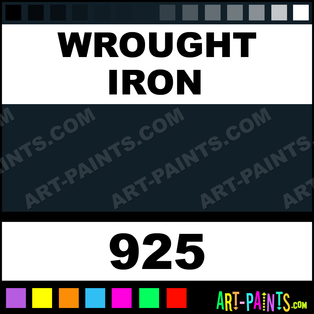 Wrought Iron Color Wrought Iron Plaid Acrylic Paints 925 Wrought Iron Paint