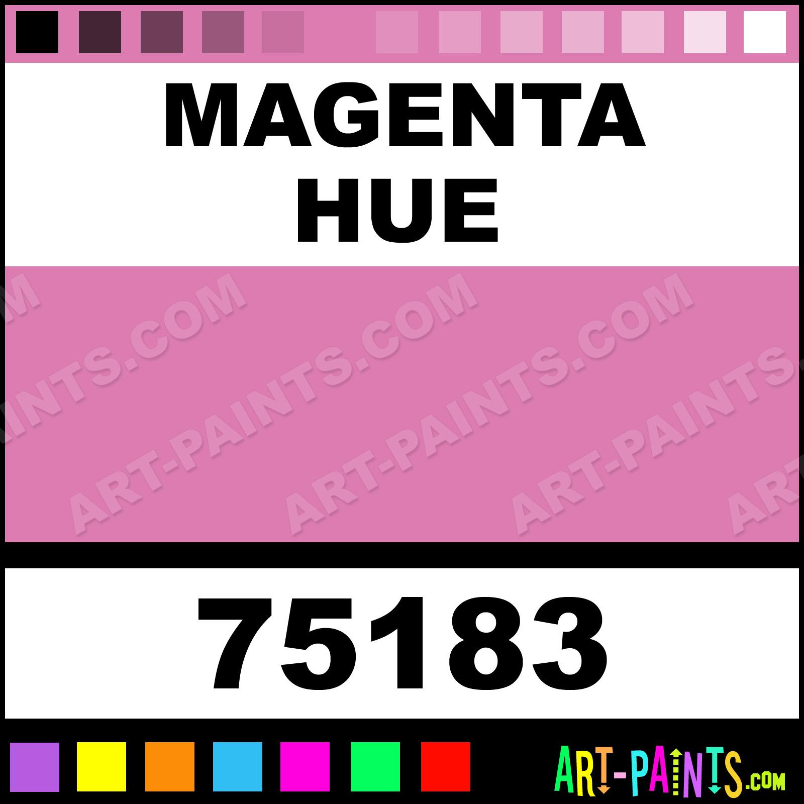 Magenta Artist Acrylic Paints 75183 Magenta Paint Magenta Color