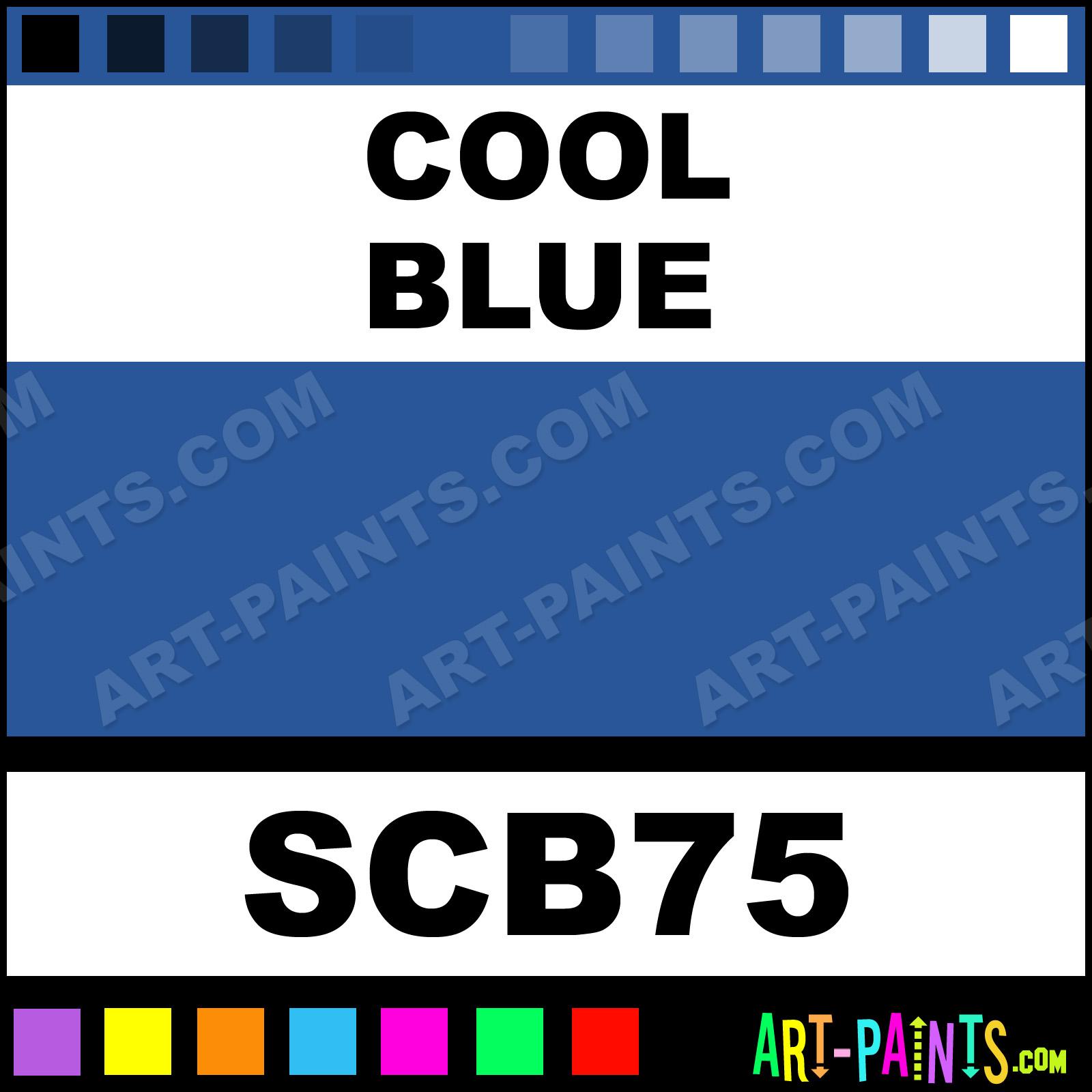 Cool Blue Student Acrylic Paints