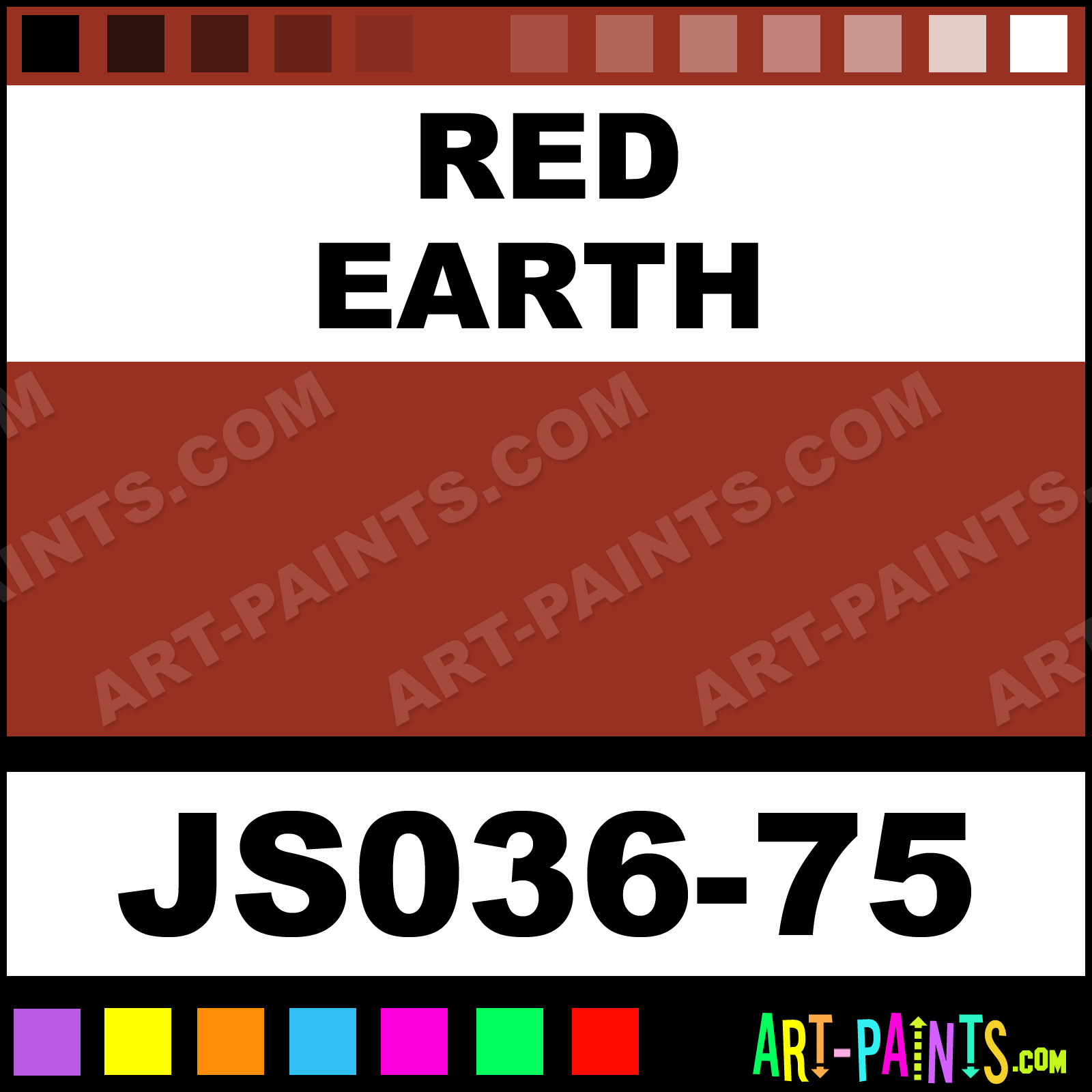 Red Earth Paint