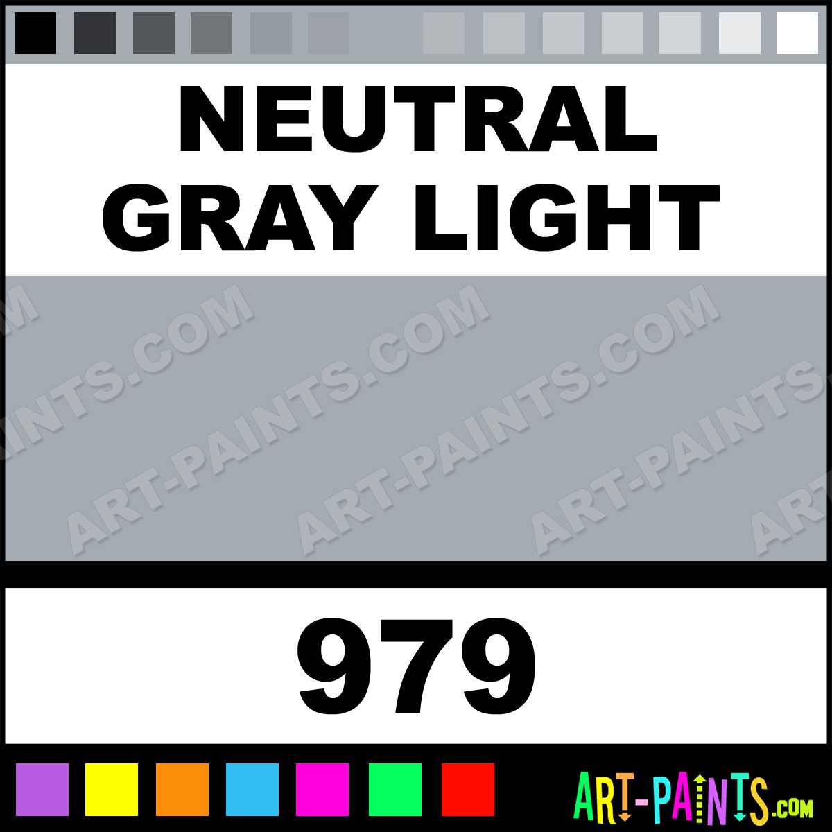 neutral gray light studio acrylic paints 979 neutral