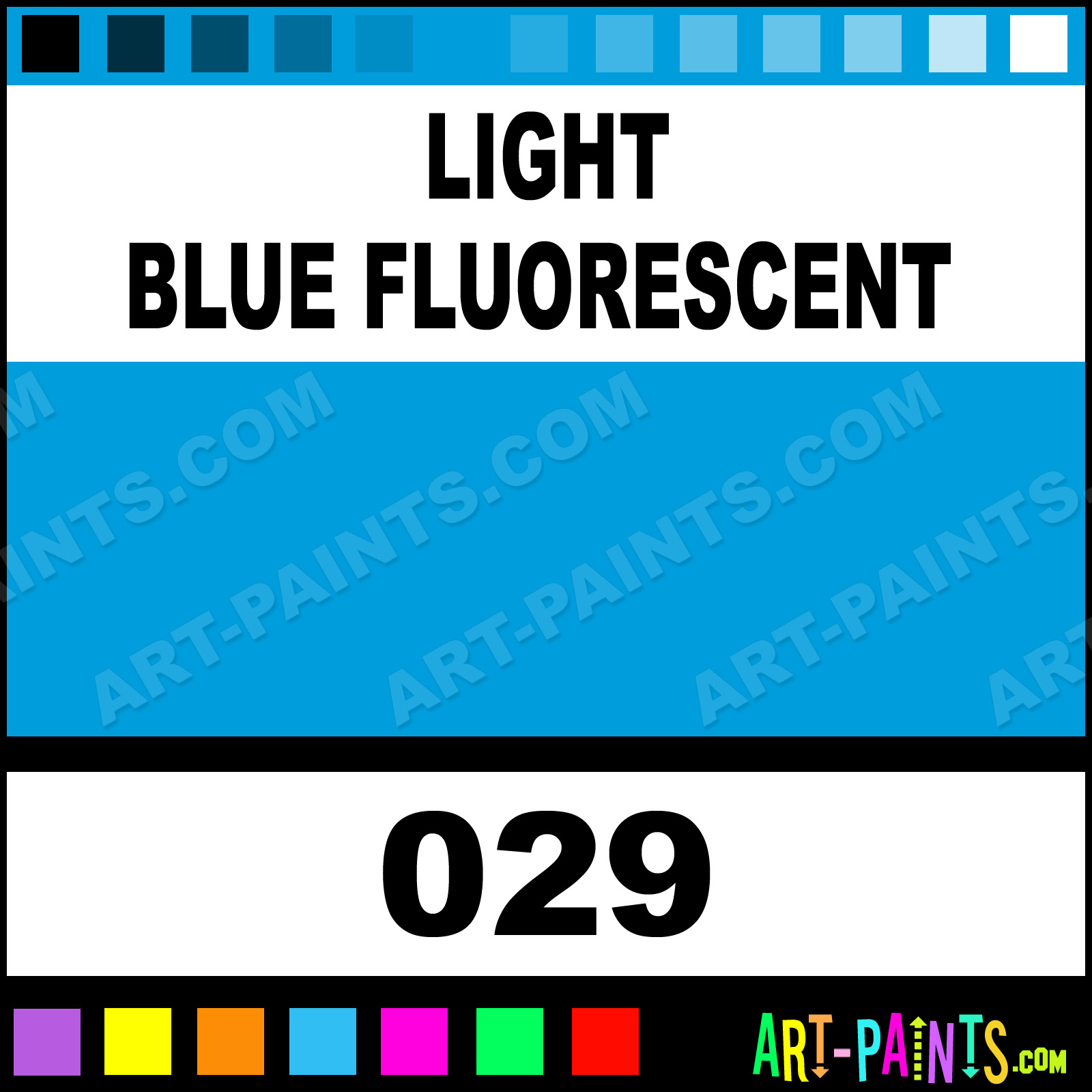 how to use fluorescent acrylic paint