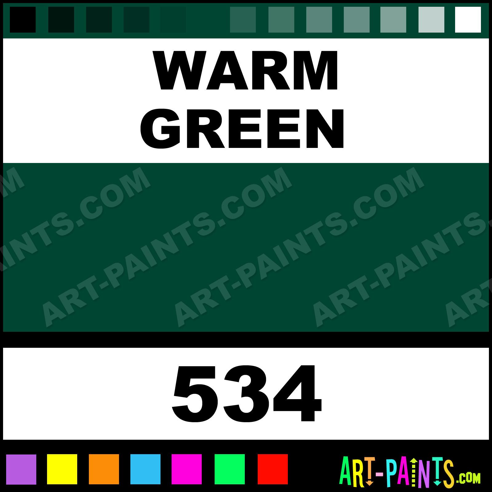 Warm Green Paint