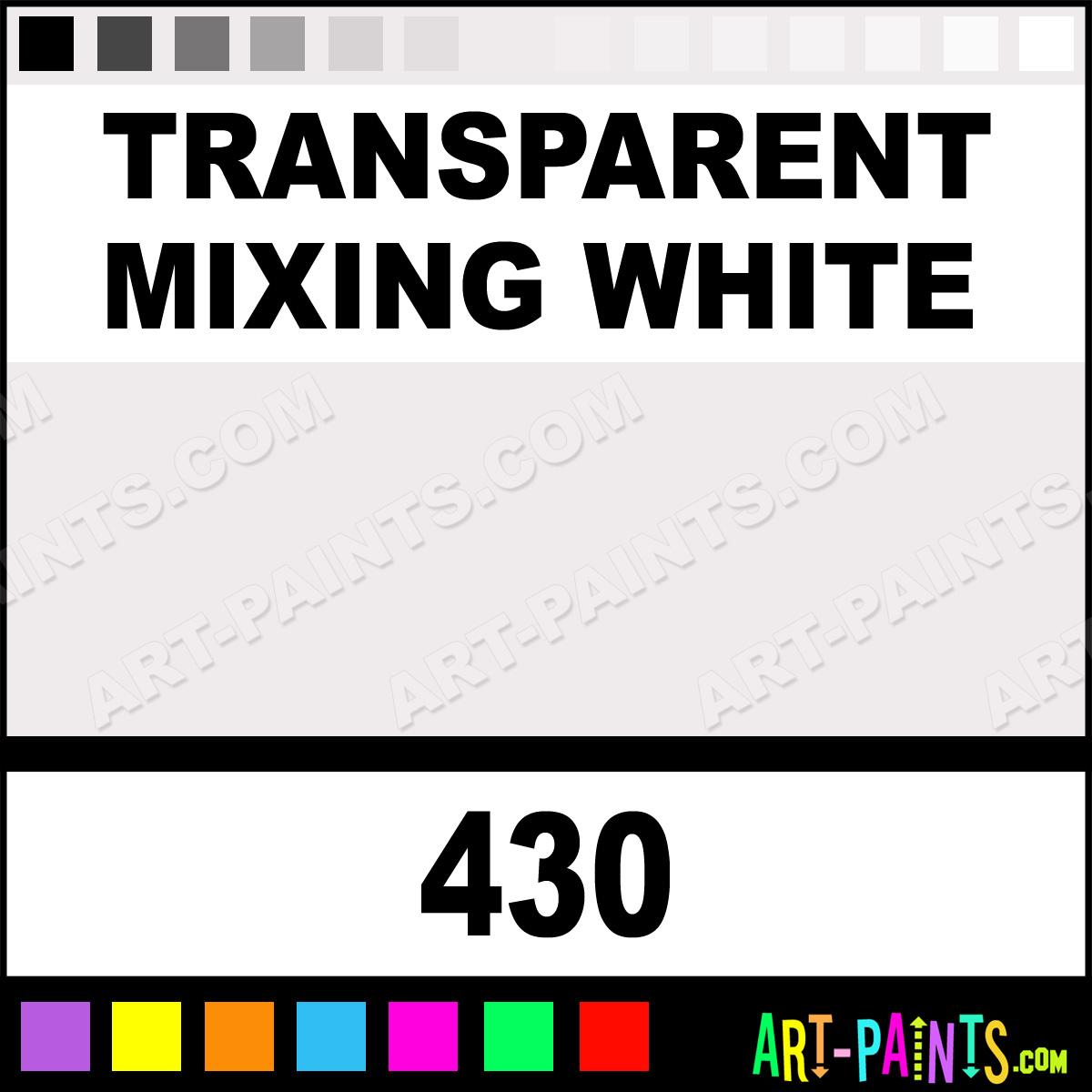 Liquitex Transparent Mixing White Spray Paint
