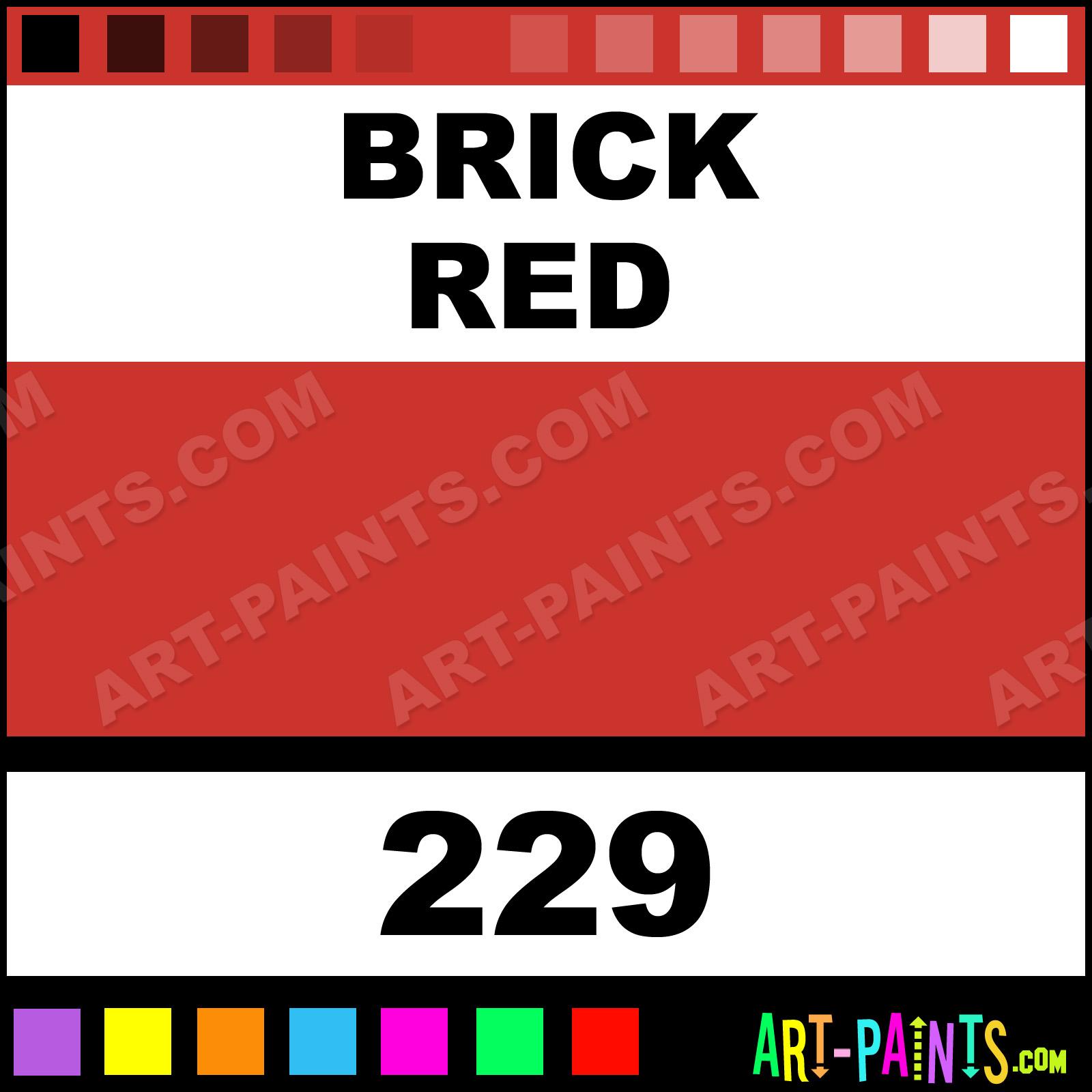Brick Red BasicAcryl Acrylic Paints
