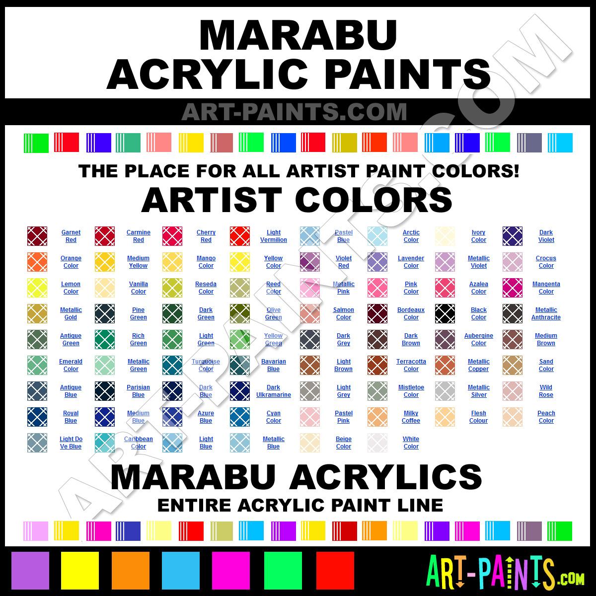 Marabu Acrylic Paint Brands Marabu Paint Brands Acrylic Paint Basicacryl Basicacryl 10